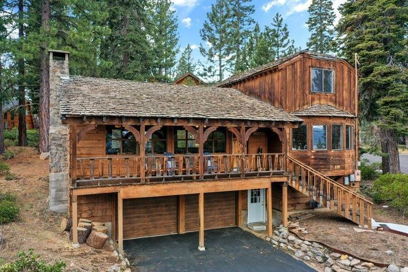 Single Family Homes for Active at 215 Edgewood Drive Tahoe City, California 96145 United States