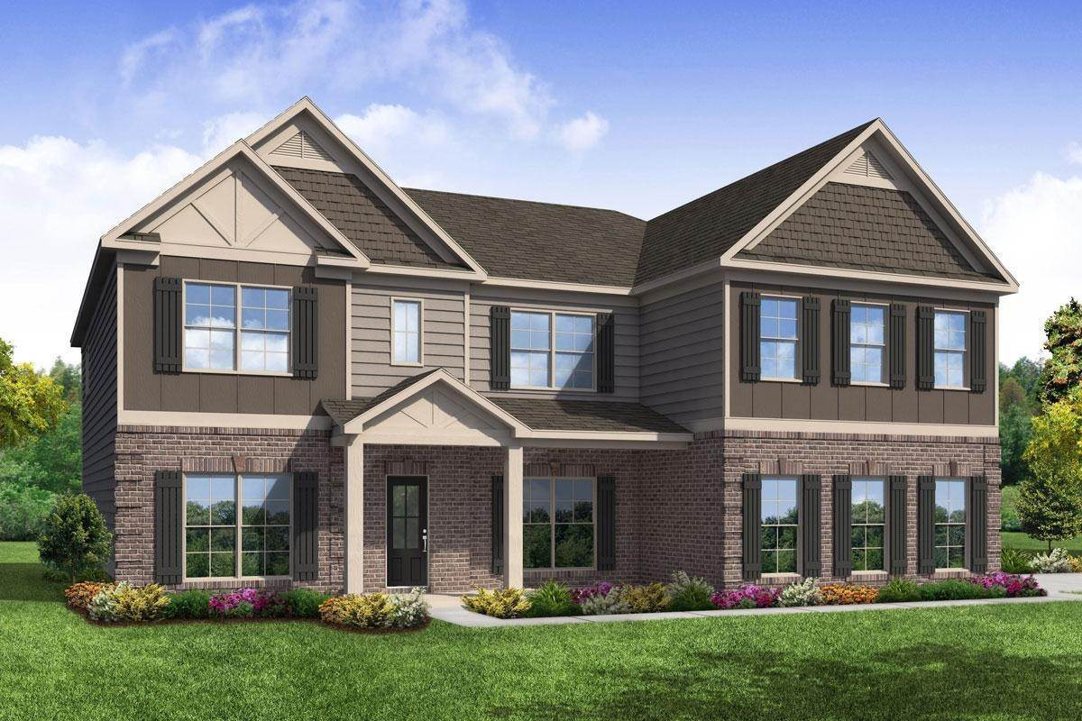 Single Family for Active at Everton - The Coventry 101 Karis Cove MCDONOUGH, GEORGIA 30252 UNITED STATES