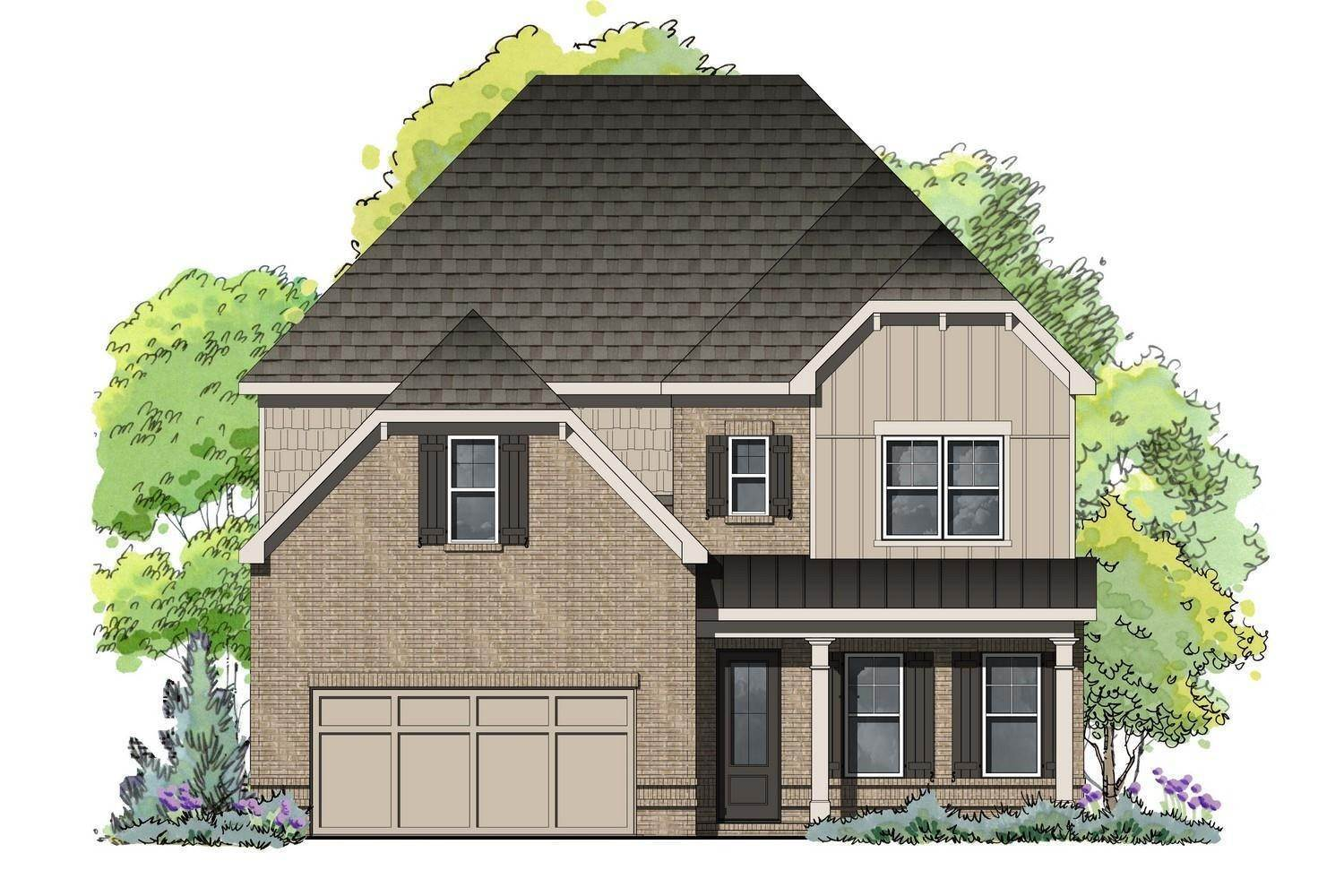 Single Family for Active at Twelve Oaks - Bannister 2239 Chestnut Pass DECATUR, GEORGIA 30033 UNITED STATES