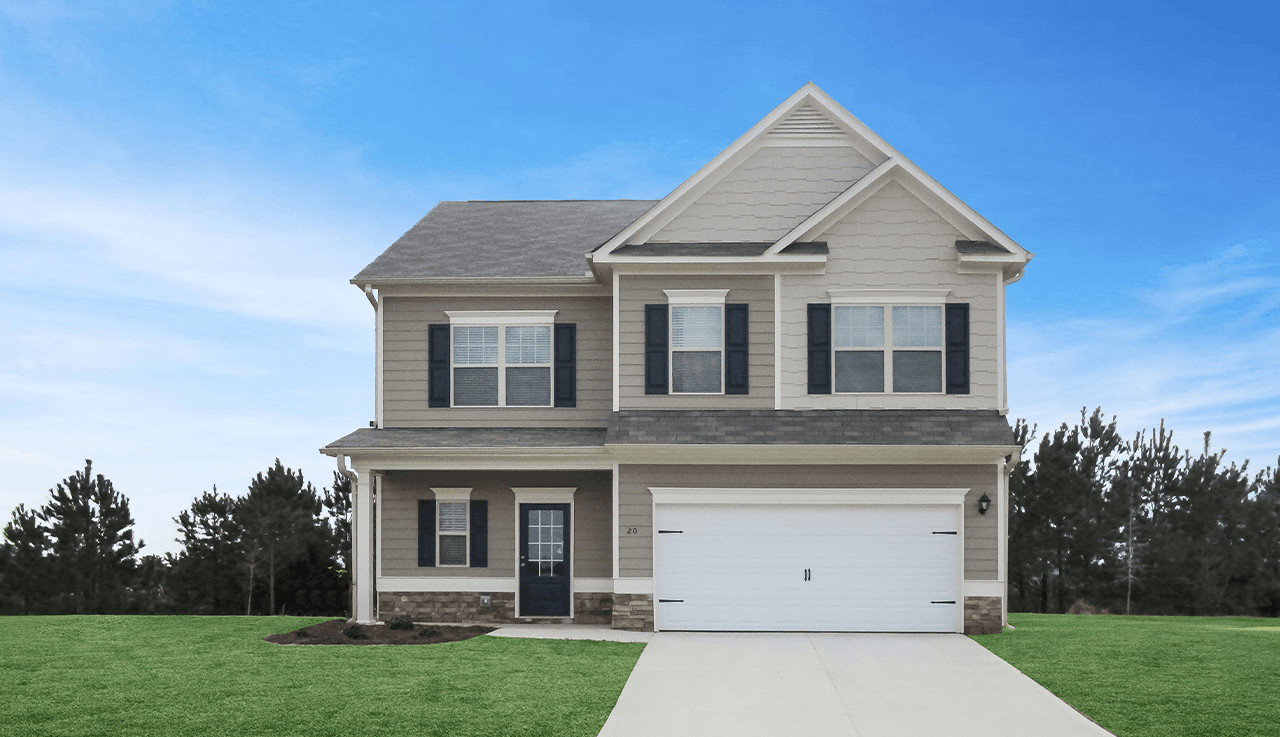 Single Family for Active at Oakdale - The Benson 501 Allen Street DAWSONVILLE, GEORGIA 30534 UNITED STATES