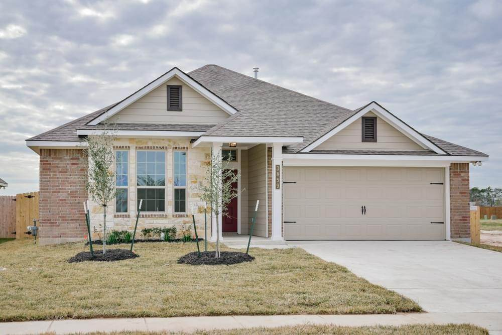 Single Family for Active at Vintage Farms - 1514 1020 Trellis Pass BRENHAM, TEXAS 77833 UNITED STATES
