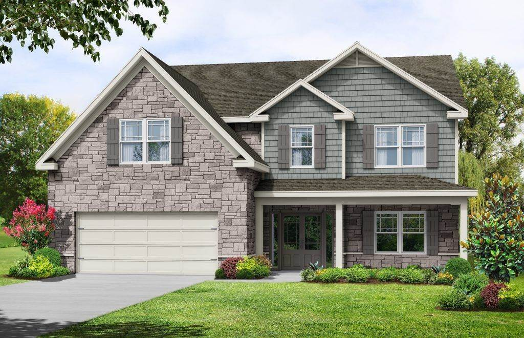 Single Family for Active at Arnold Estates - Heatherland Homes The Wakefield Ii 100 Lotus Circle MCDONOUGH, GEORGIA 30252 UNITED STATES