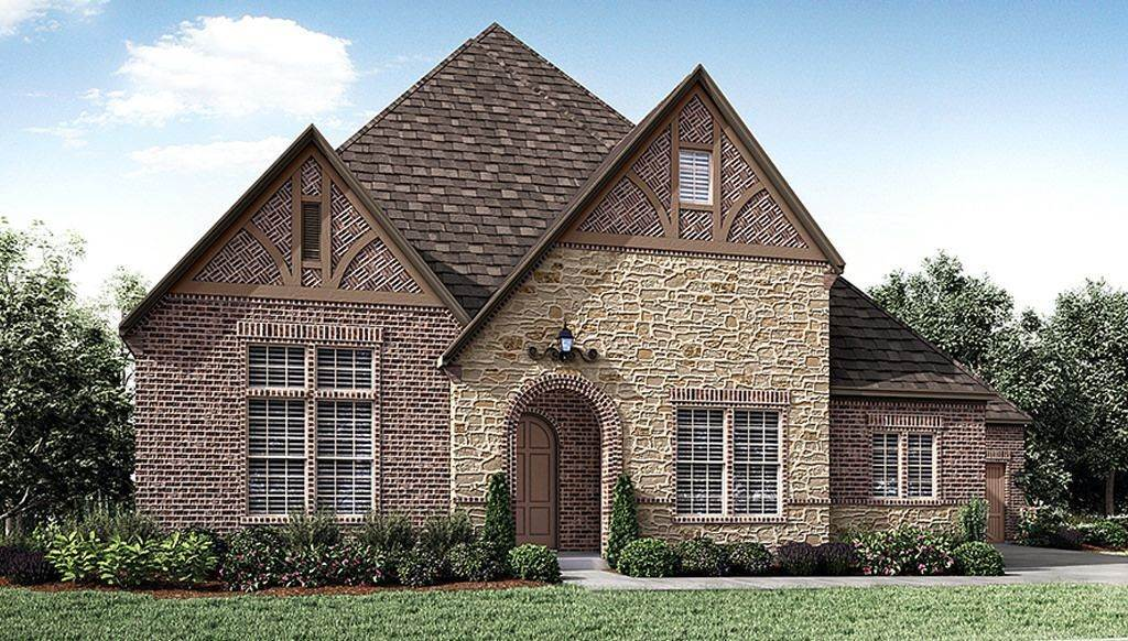 Single Family for Active at Montgomery Farm Estates 90s - 8016 Plan 808 Brett Drive ALLEN, TEXAS 75013 UNITED STATES