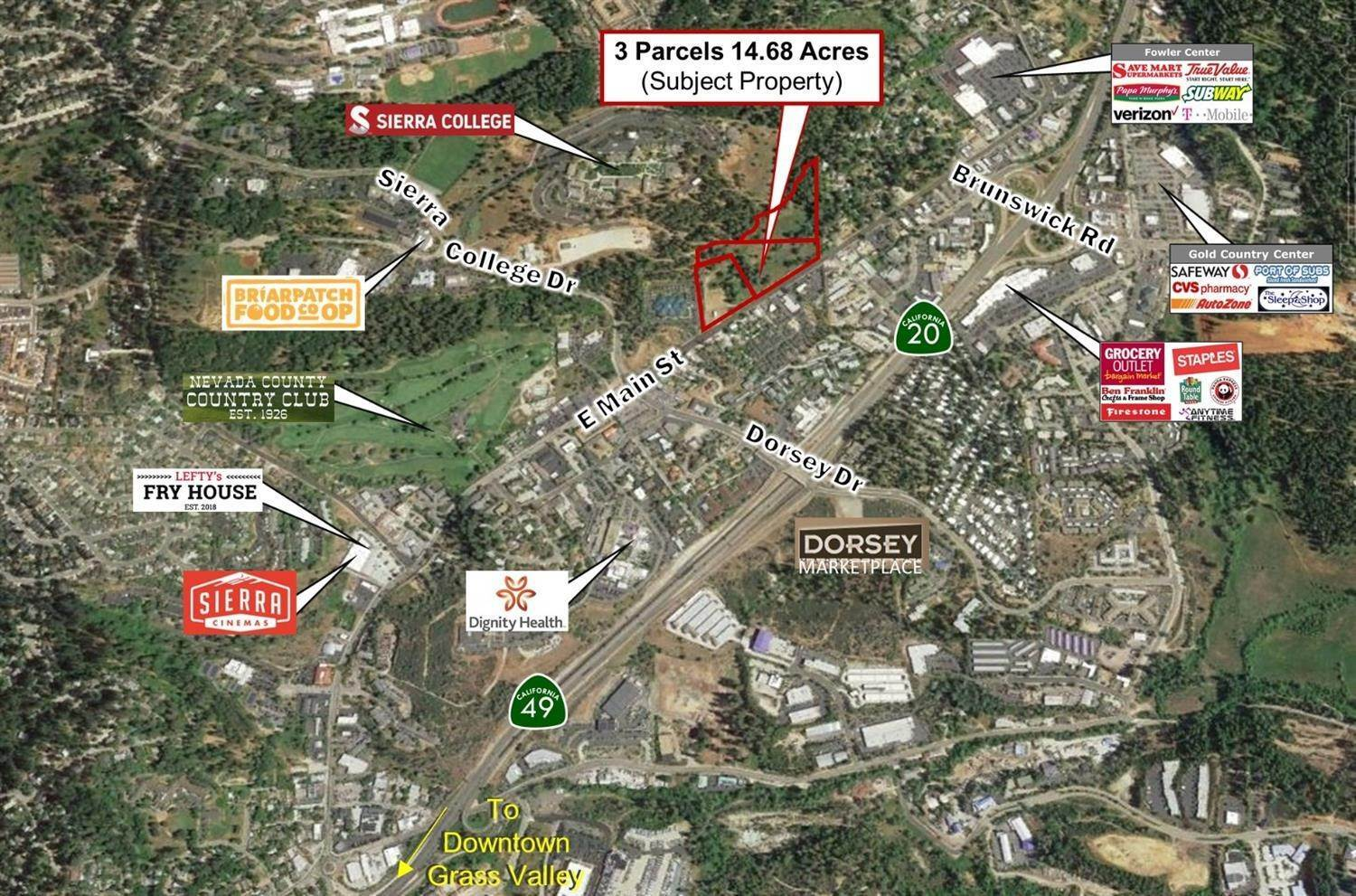 Comercial por un Venta en 1400 E Main Street Grass Valley, California 95945 Estados Unidos