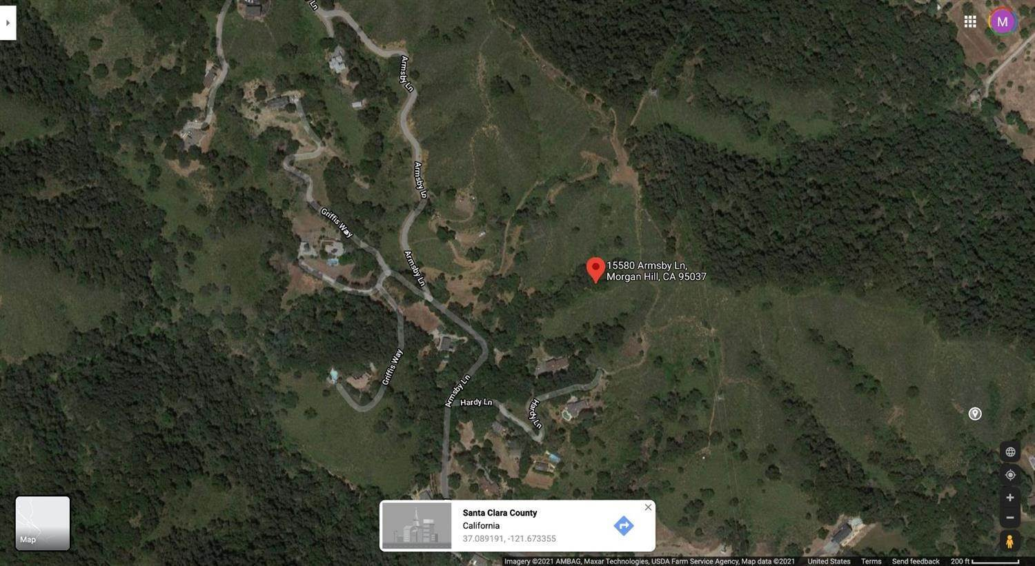 Land for Active at 15580 Armsby Lane Morgan Hill, California 95037 United States