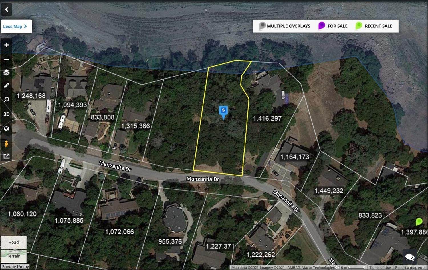 Land for Active at 17700 Manzanita Drive Morgan Hill, California 95037 United States