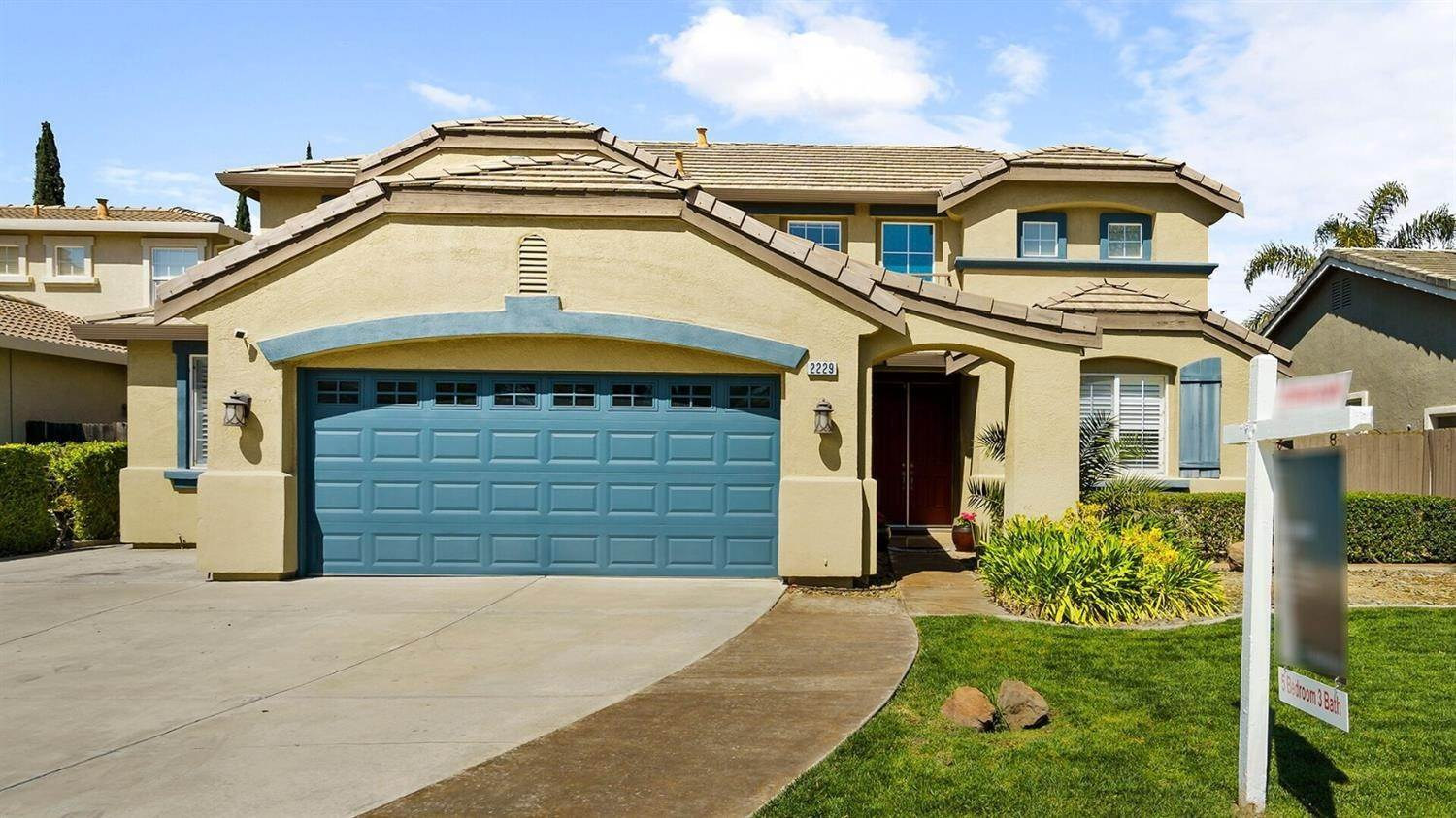 3. Single Family Homes for Active at 2229 Yellowstone Avenue Tracy, California 95377 United States
