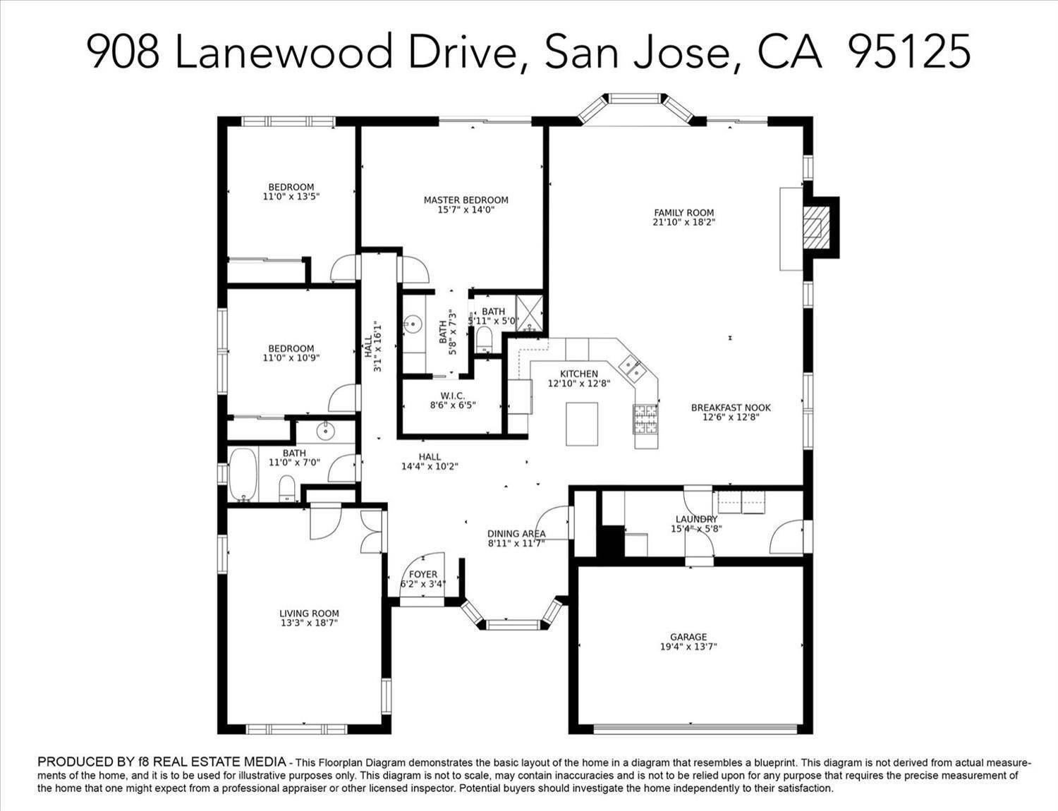 46. Single Family Homes for Active at 908 Lanewood Drive San Jose, California 95125 United States