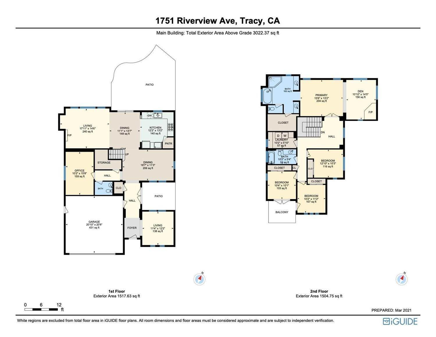 50. Single Family Homes for Active at 1751 Riverview Avenue Tracy, California 95377 United States