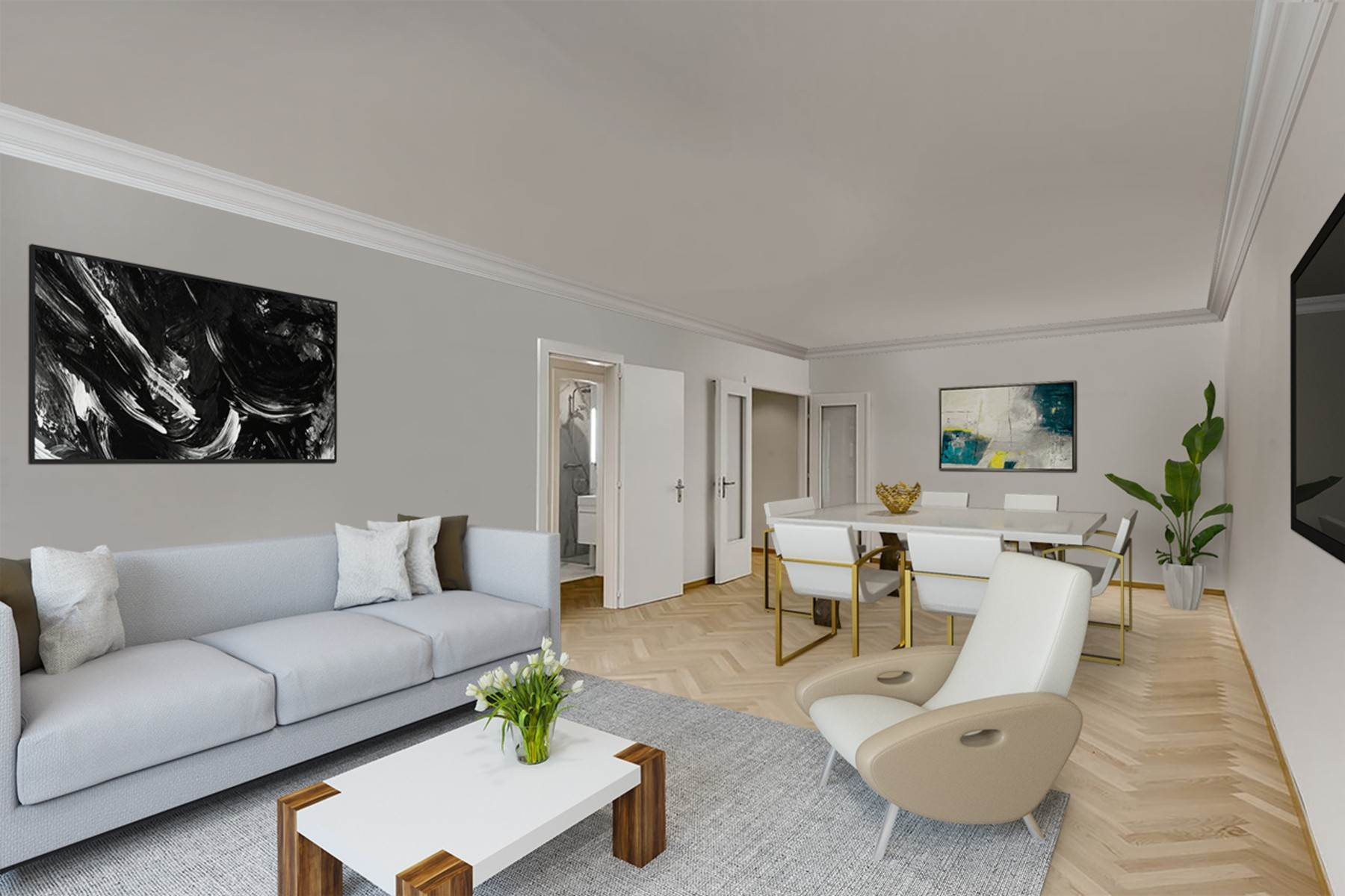 Apartments for Active at Luxurious flat entirely renovated with taste Genève Geneva, Geneva 1206 Switzerland