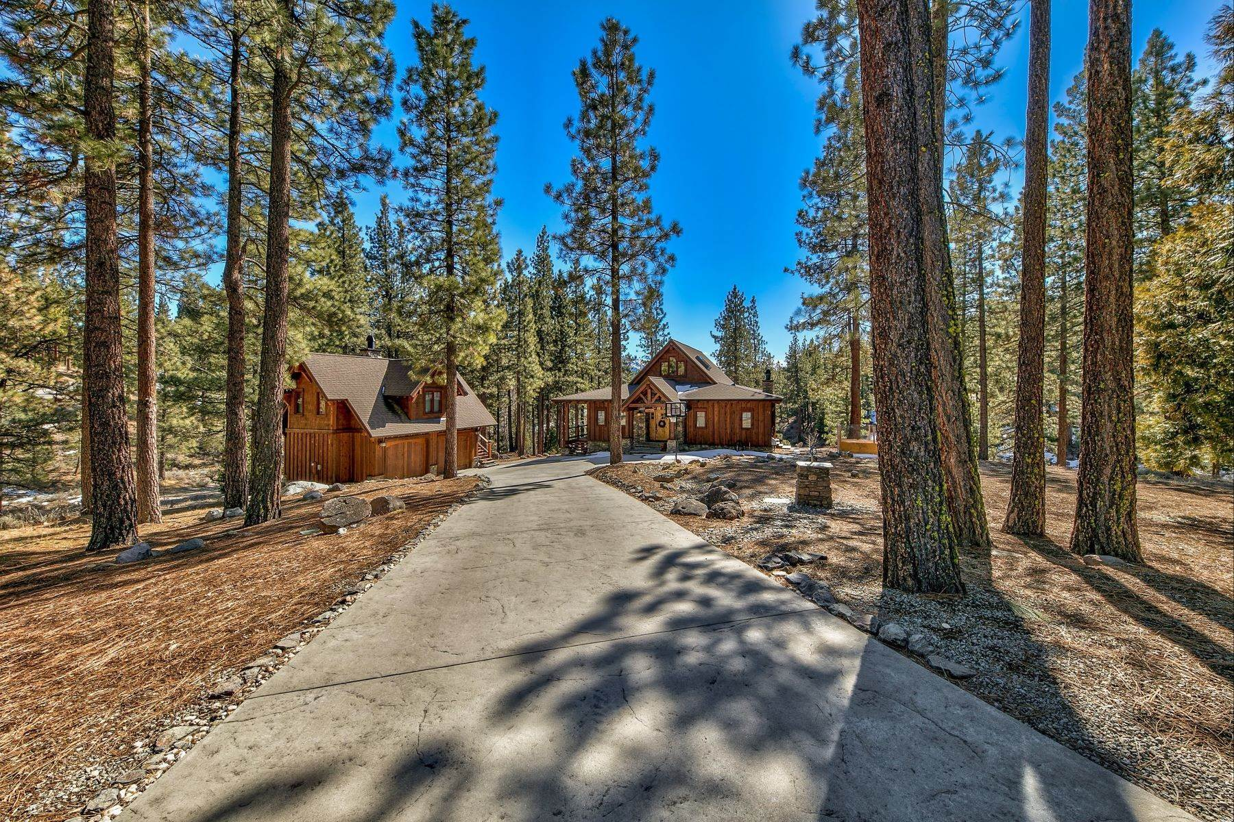 40. Single Family Homes for Active at Grizzly Ranch Custom Home 283 Big Grizzly Portola, California 96122 United States