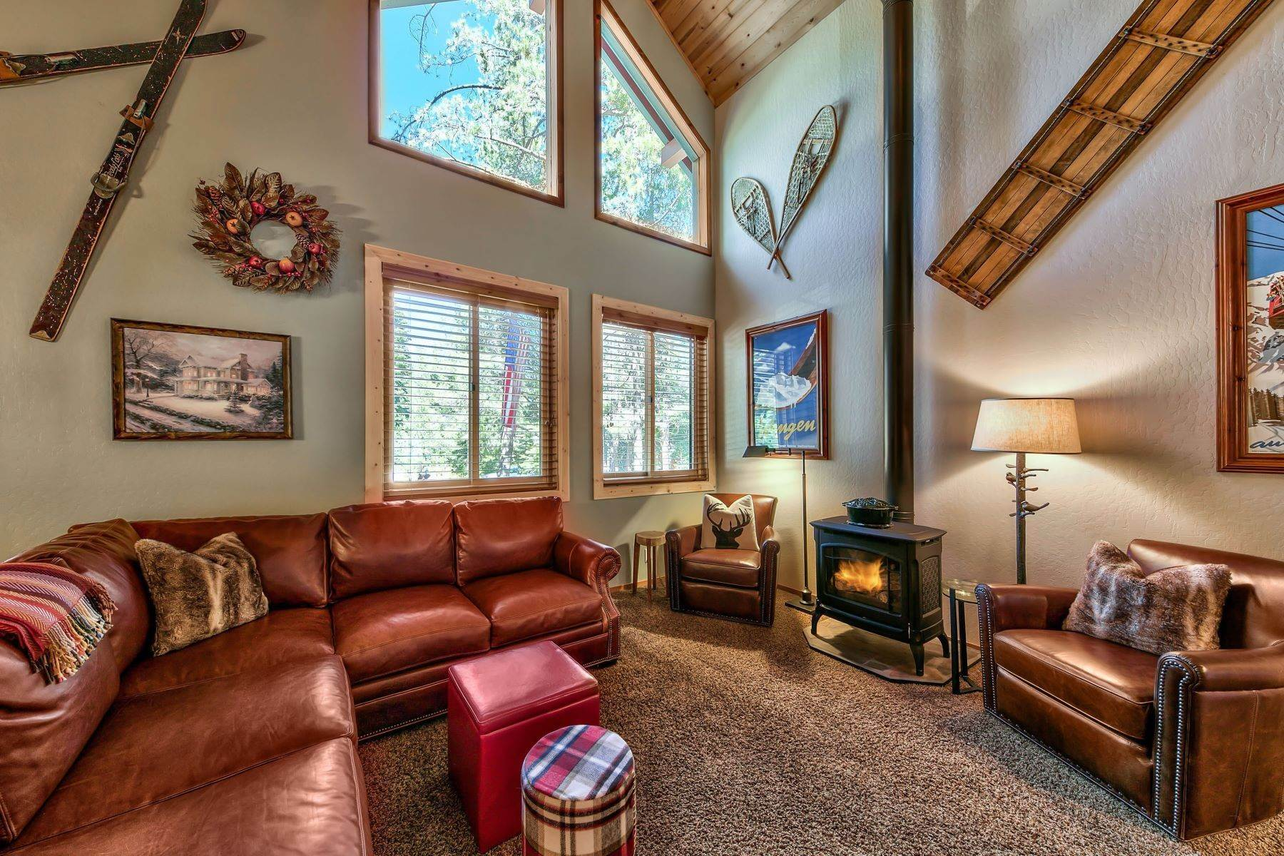 2. Single Family Homes for Active at Remodeled Tahoe Donner Retreat 15151 Northwoods Boulevard Truckee, California 96161 United States