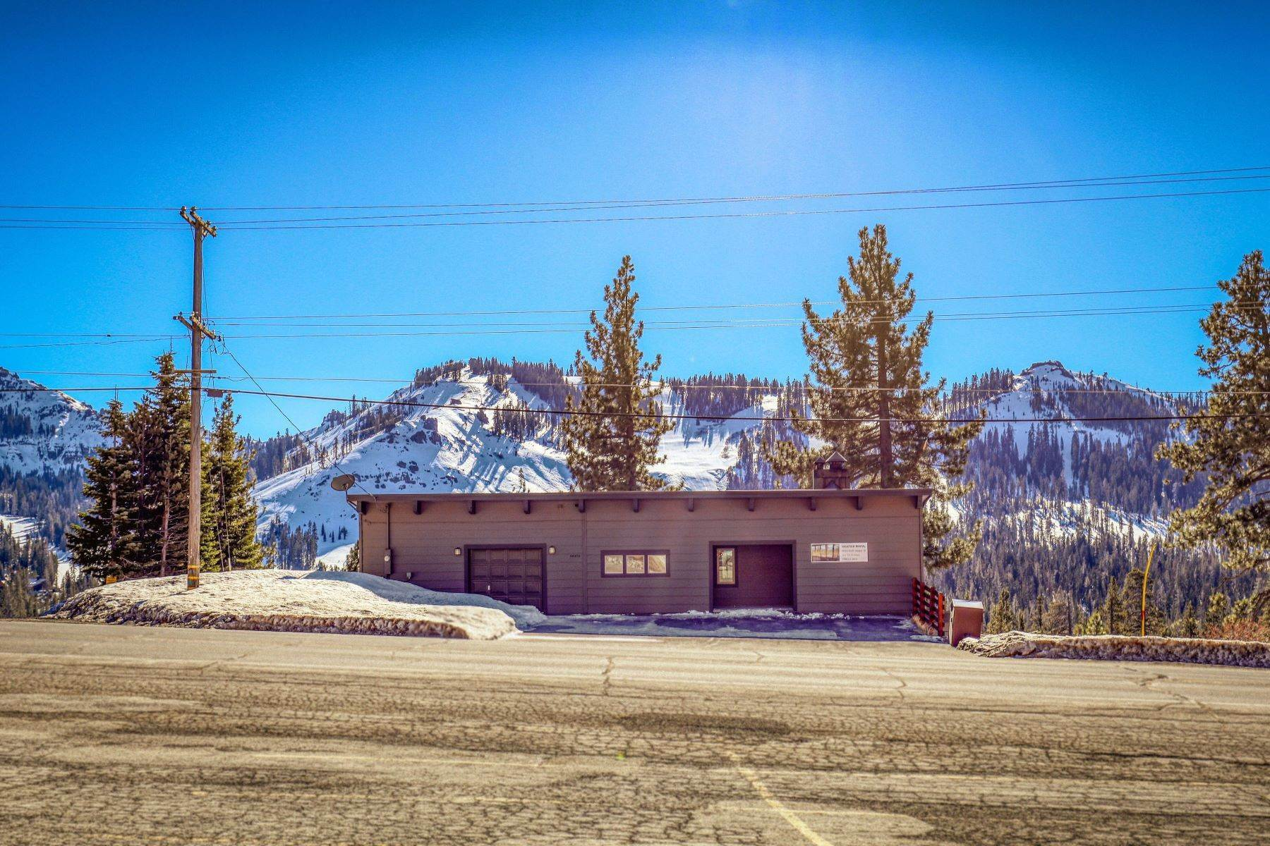 42. Single Family Homes for Active at Donner Summit Base Camp 58376 Donner Pass Road Norden, California 95724 United States
