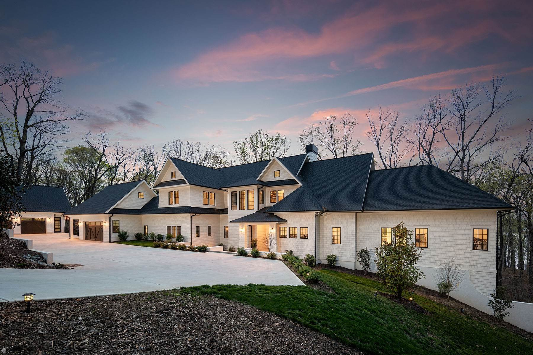 Single Family Homes for Active at THE SANCTUARY 13702 Sage Thrasher Lane Charlotte, North Carolina 28278 United States