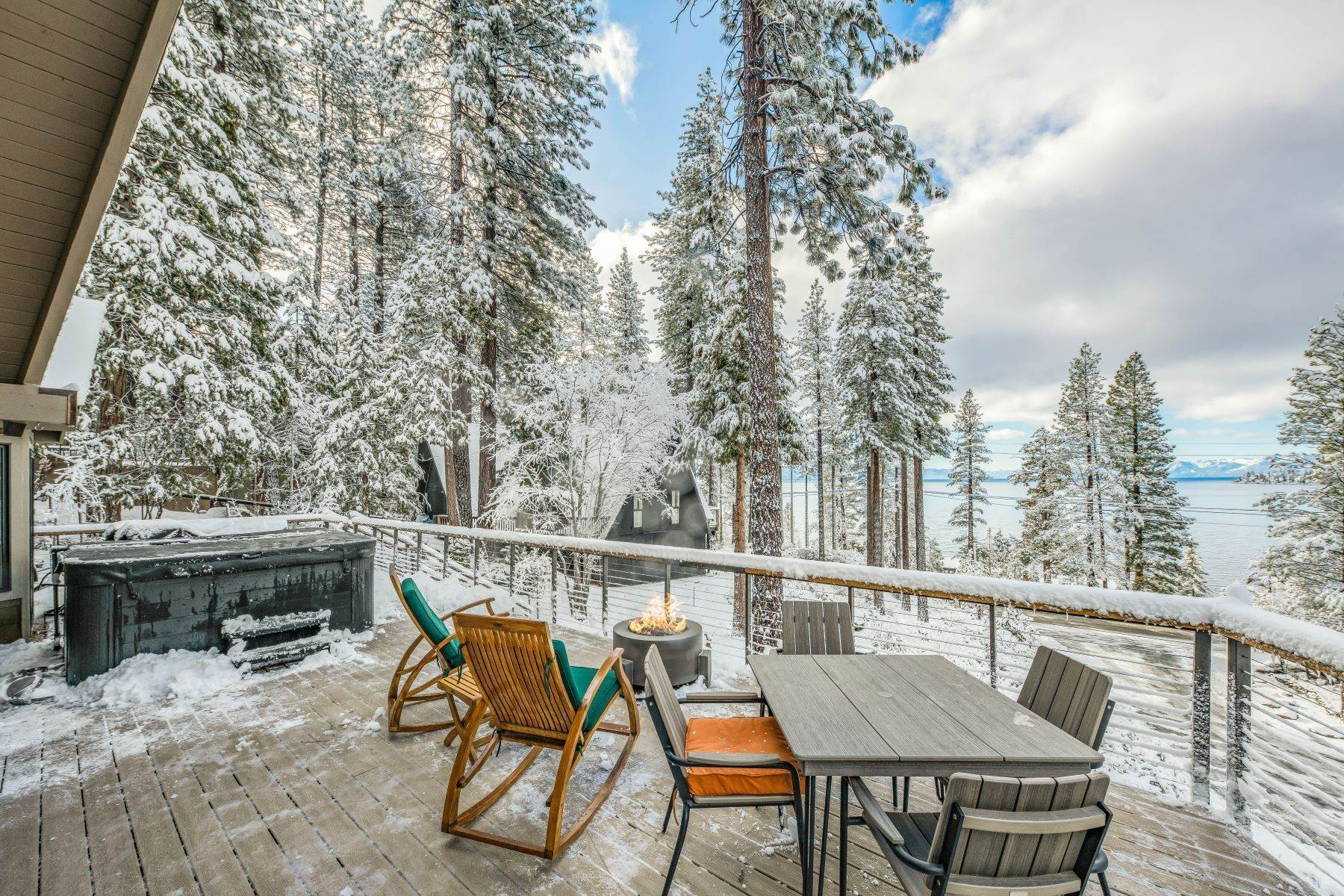 6. Single Family Homes for Active at Panoramic Lakeview Lodge 115 Vue Court Incline Village, Nevada 89451 United States