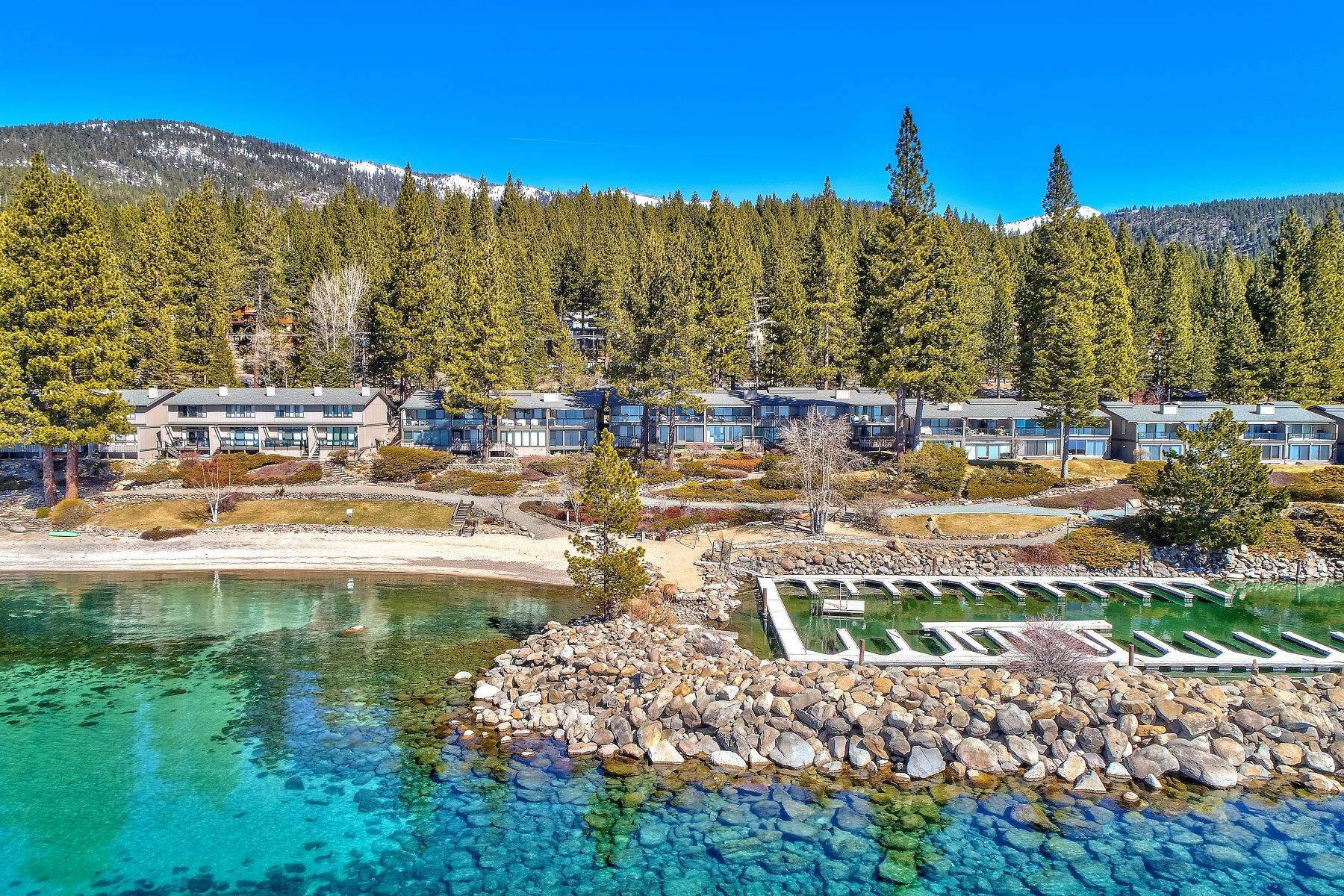 Condominiums for Active at Lakefront property with Boat Marina 525 Lakeshore Blvd #48 Incline Village, Nevada 89451 United States