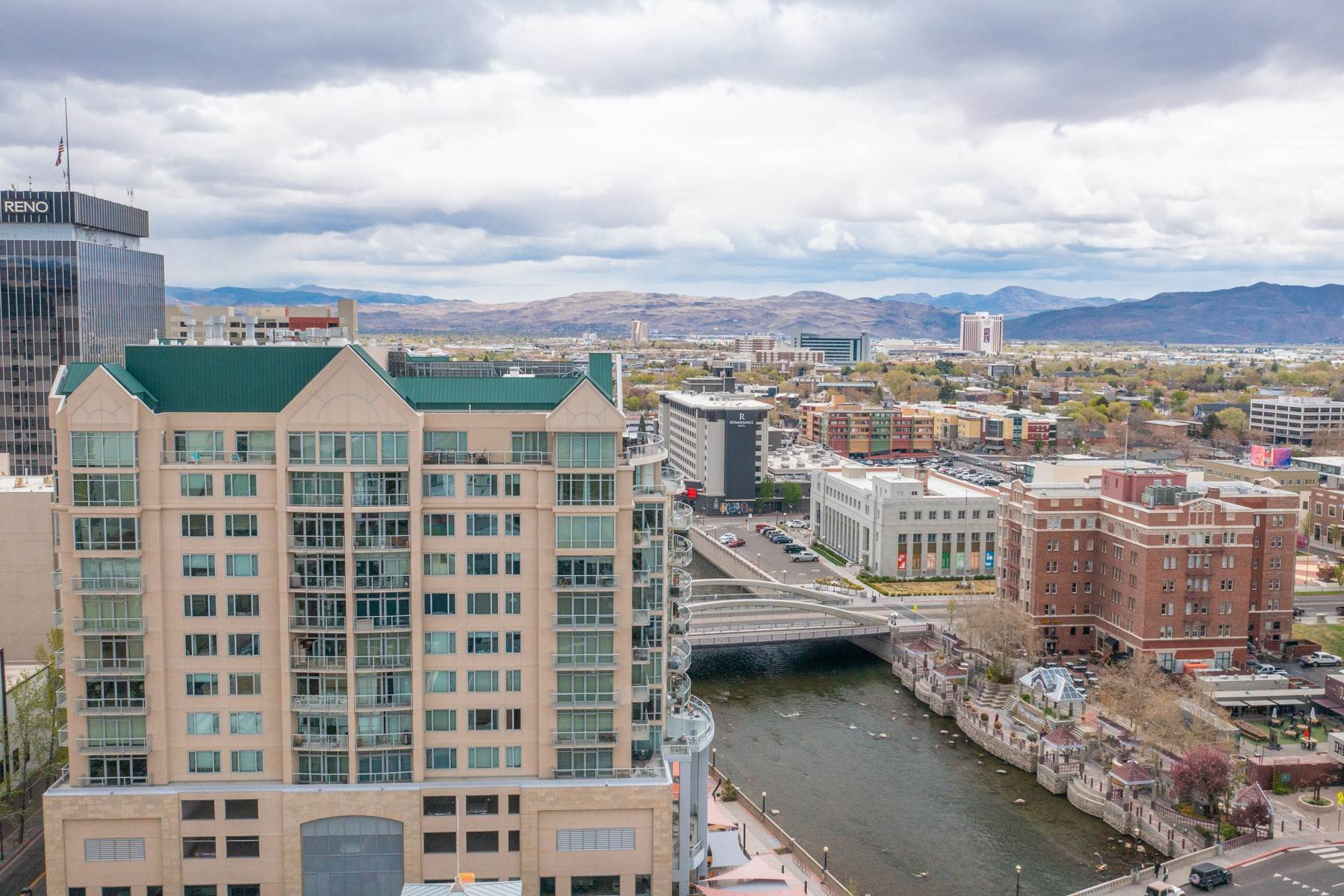 33. Condominiums for Active at Luxury Condo on the Riverwalk 50 N Sierra Street, #803 Reno, Nevada 89501 United States