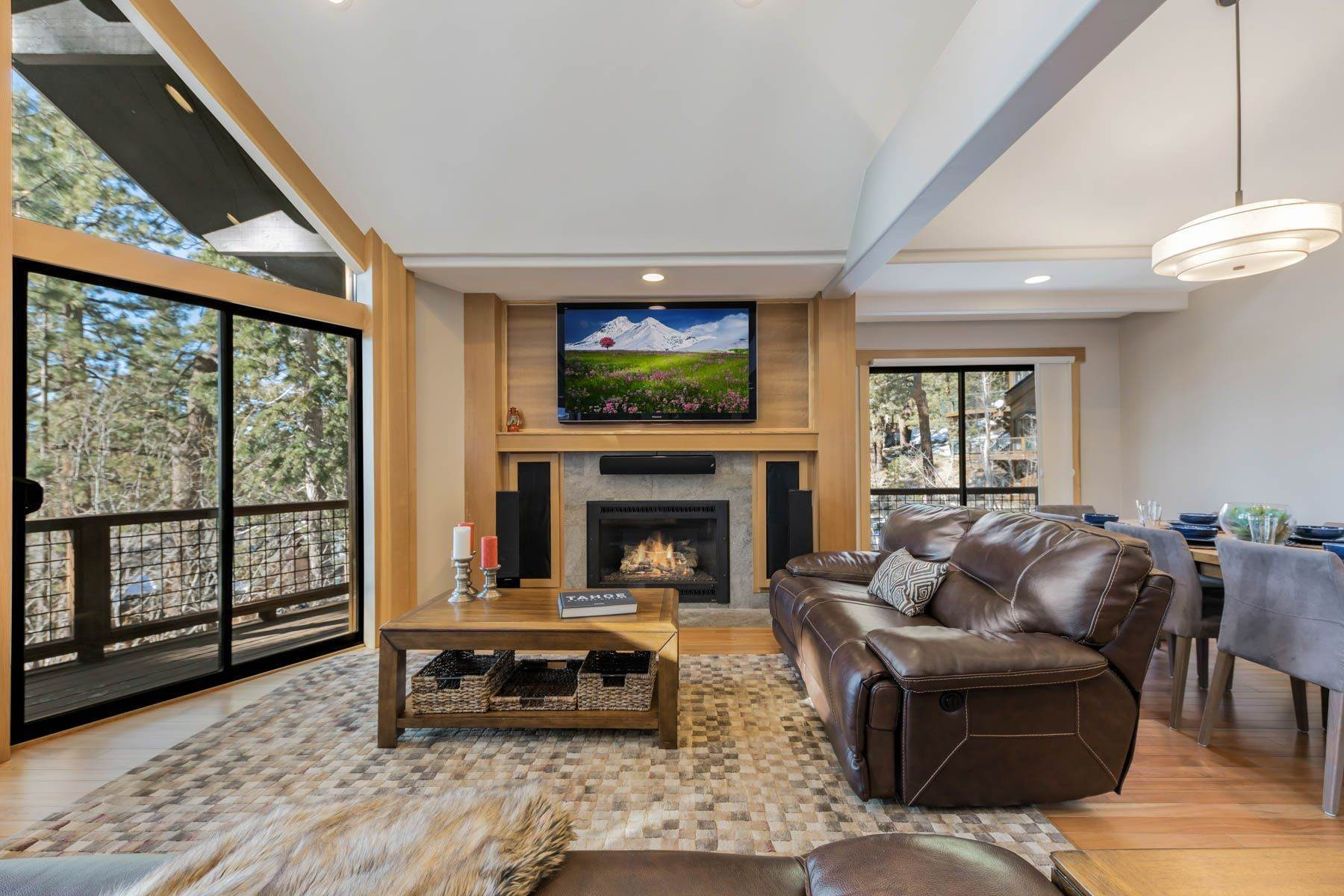 5. Single Family Homes for Active at Lakeview Creekside Mountain Home 1007 Apollo Way Incline Village, Nevada 89451 United States