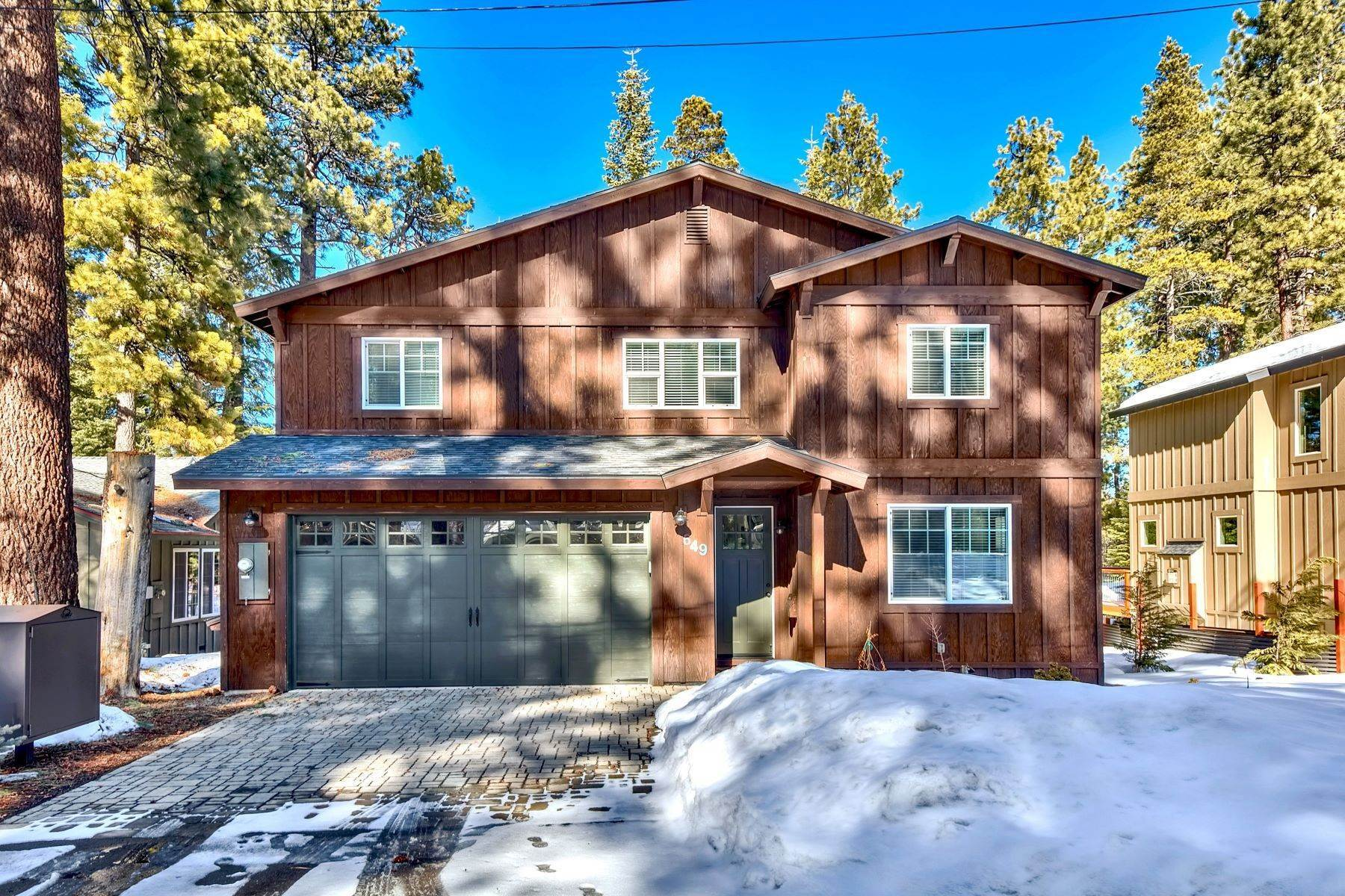 Property for Active at Mountain Modern 649 Tahoe Island Drive South Lake Tahoe, California 96150 United States
