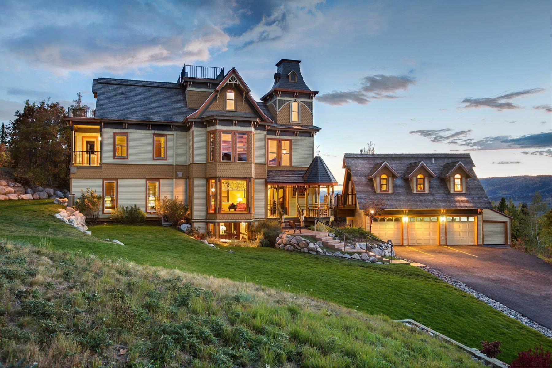 Single Family Homes for Active at The Victorian under the Gondola 2405 Ski Trail Lane Steamboat Springs, Colorado 80487 United States