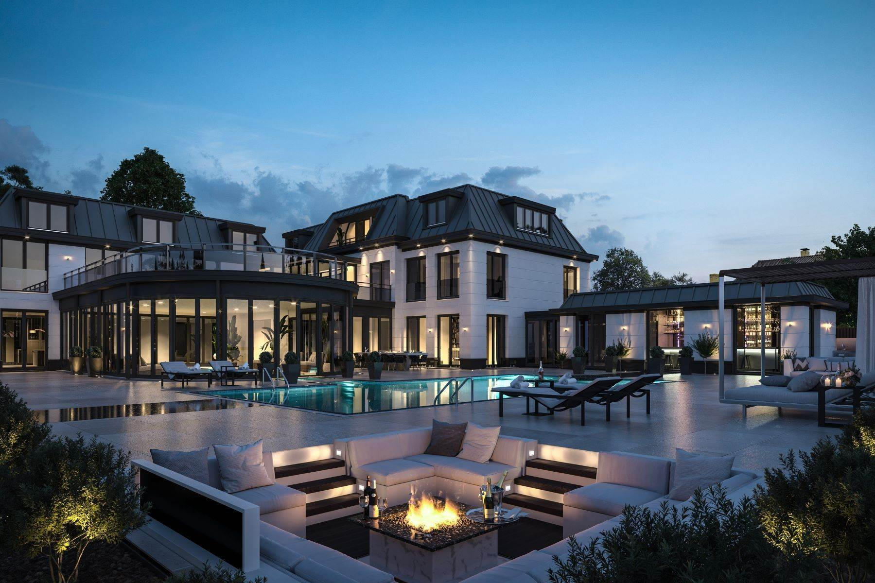 Other Residential Homes 为 销售 在 Ultimate new luxury palace on the lake - Vinkeveen Baambrugse Zuwe 141D Vinkeveen, Utrecht 3645 AE 荷兰