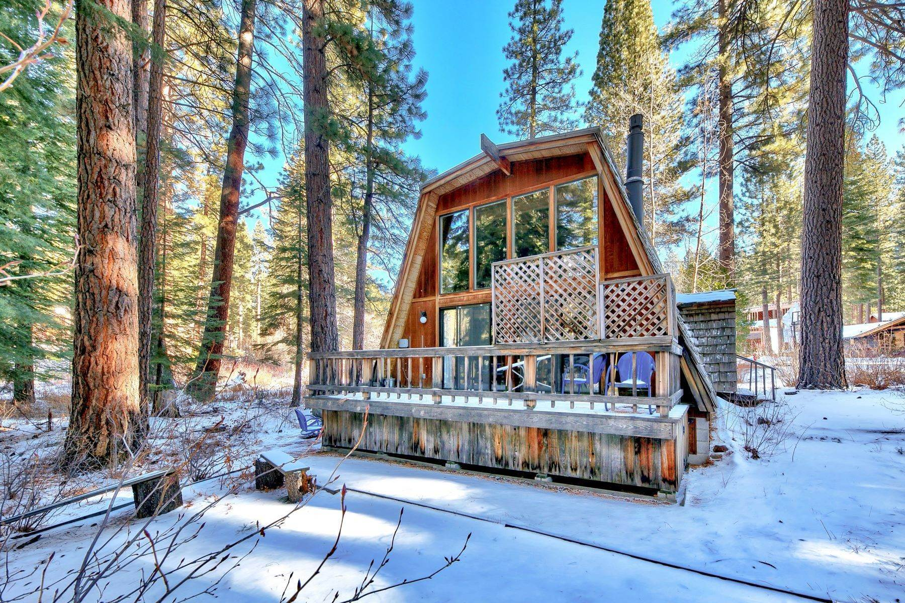 8. Single Family Homes for Active at Charming Tahoe Cabin 135 Mayhew Circle Incline Village, Nevada 89451 United States