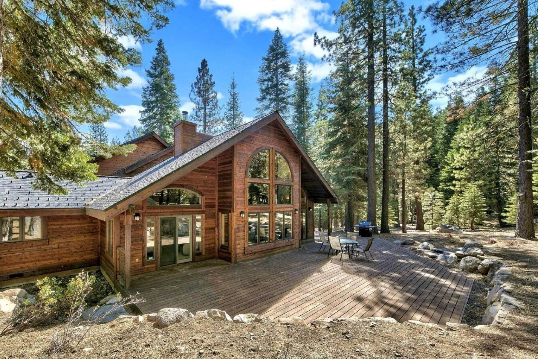 5. Single Family Homes for Active at Private Setting In Tahoe Donner 12320 Telemark Place Truckee, California 96161 United States