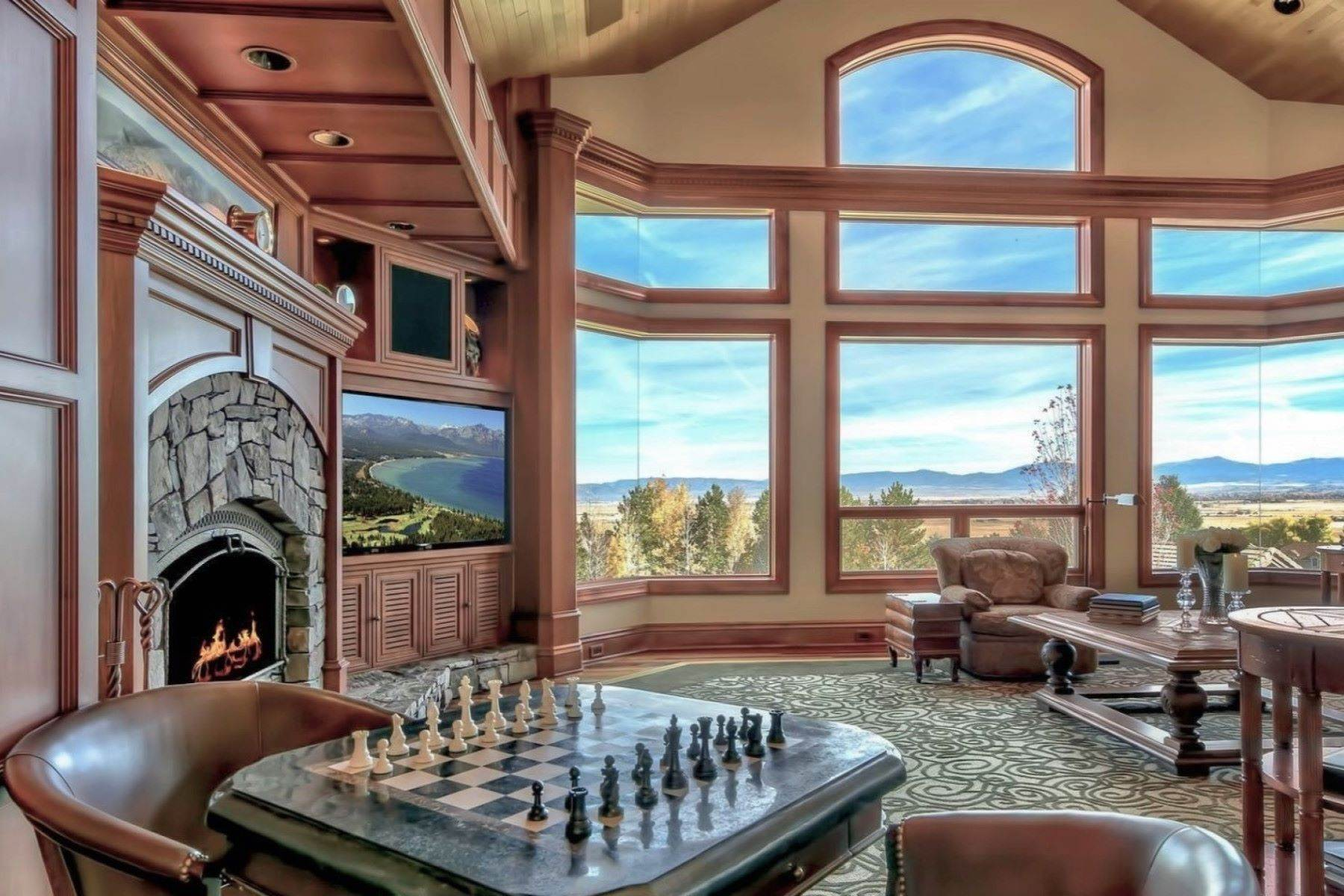 15. Single Family Homes for Active at Private Estate Near Lake Tahoe 263 Sierra Country Circle Gardnerville, Nevada 89460 United States