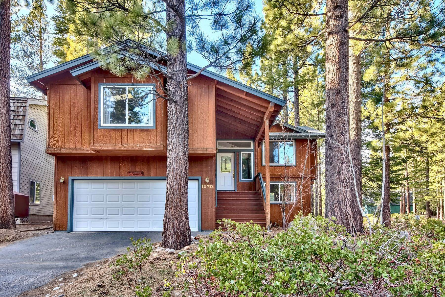 Single Family Homes for Active at Mountain Living 1670 Nadowa St. South Lake Tahoe, California 96150 United States