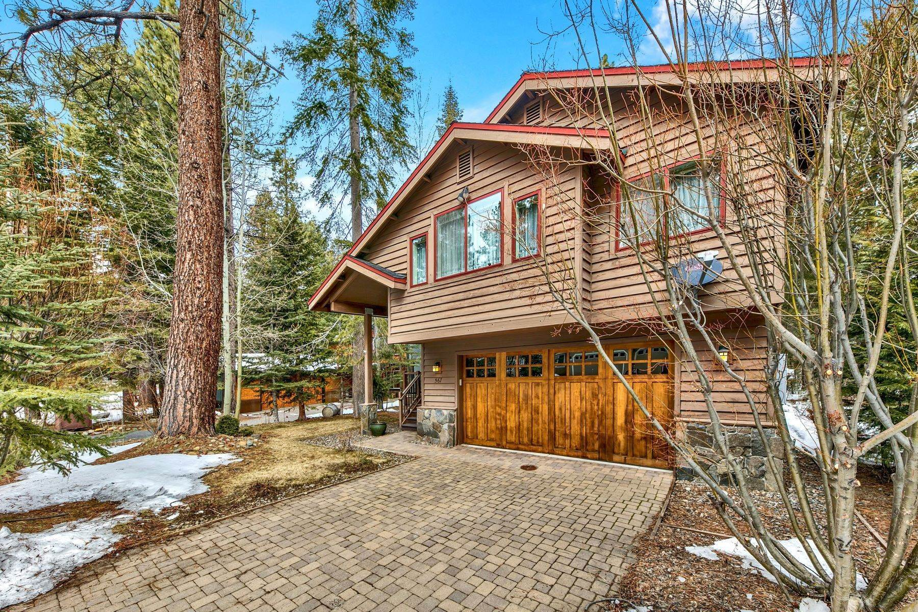 6. Single Family Homes for Active at Mountain Luxury 567 Eloise Ave South Lake Tahoe, California 96150 United States