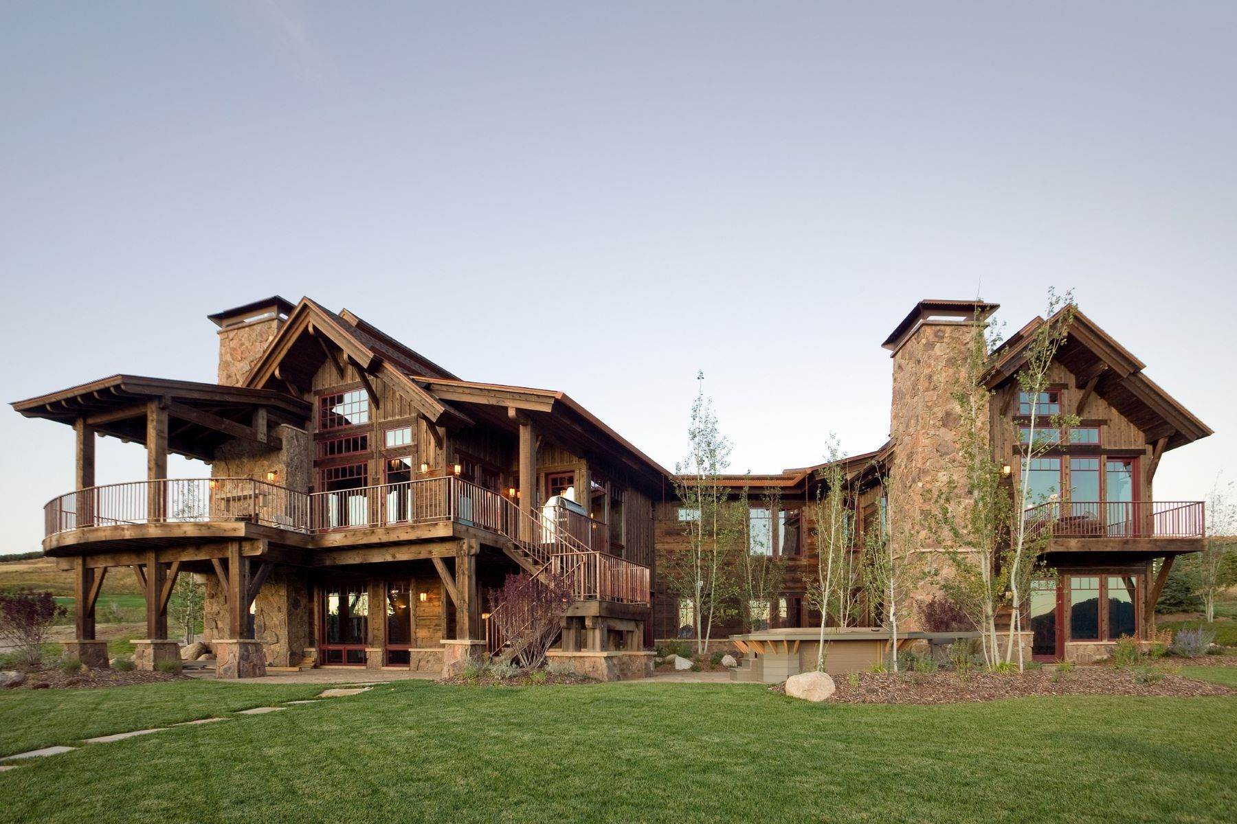 Single Family Homes for Active at Beautiful Home at Catamount Ranch 33640 Catamount Drive Steamboat Springs, Colorado 80487 United States