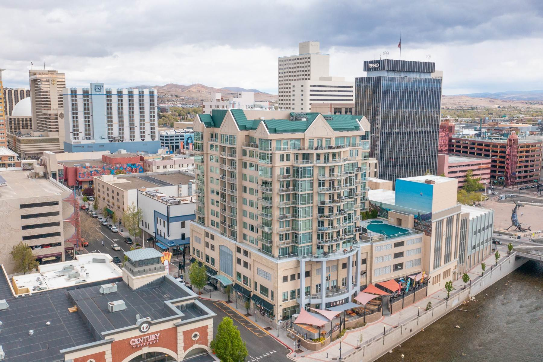 32. Condominiums for Active at Luxury Condo on the Riverwalk 50 N Sierra Street, #803 Reno, Nevada 89501 United States