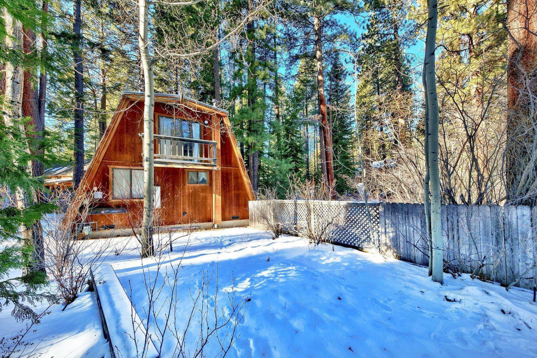 15. Single Family Homes for Active at Charming Tahoe Cabin 135 Mayhew Circle Incline Village, Nevada 89451 United States