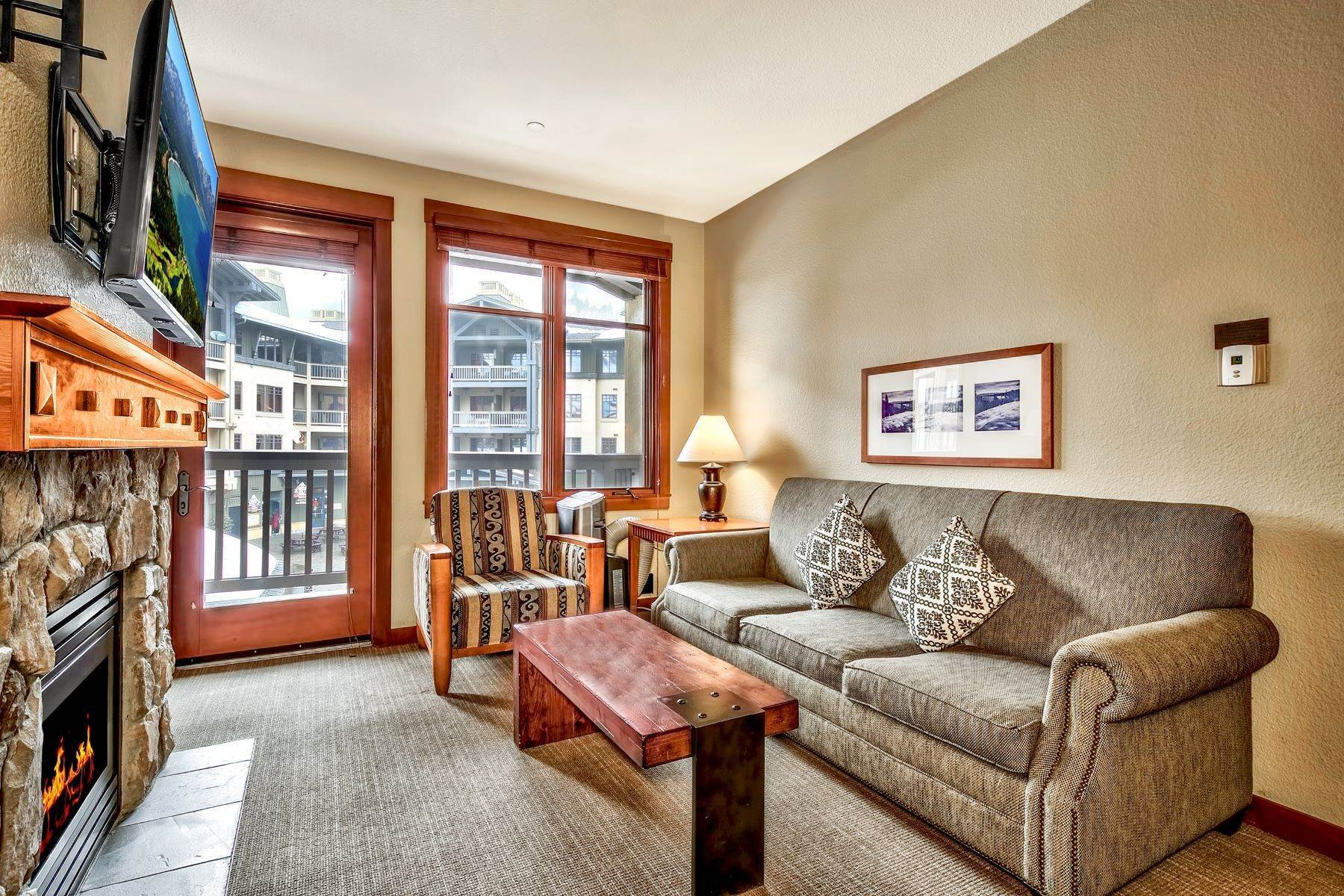 3. Condominiums for Active at Right next to Squaw Funitel lift 1880 Village South Road #3-233 Olympic Valley, California 96146 United States