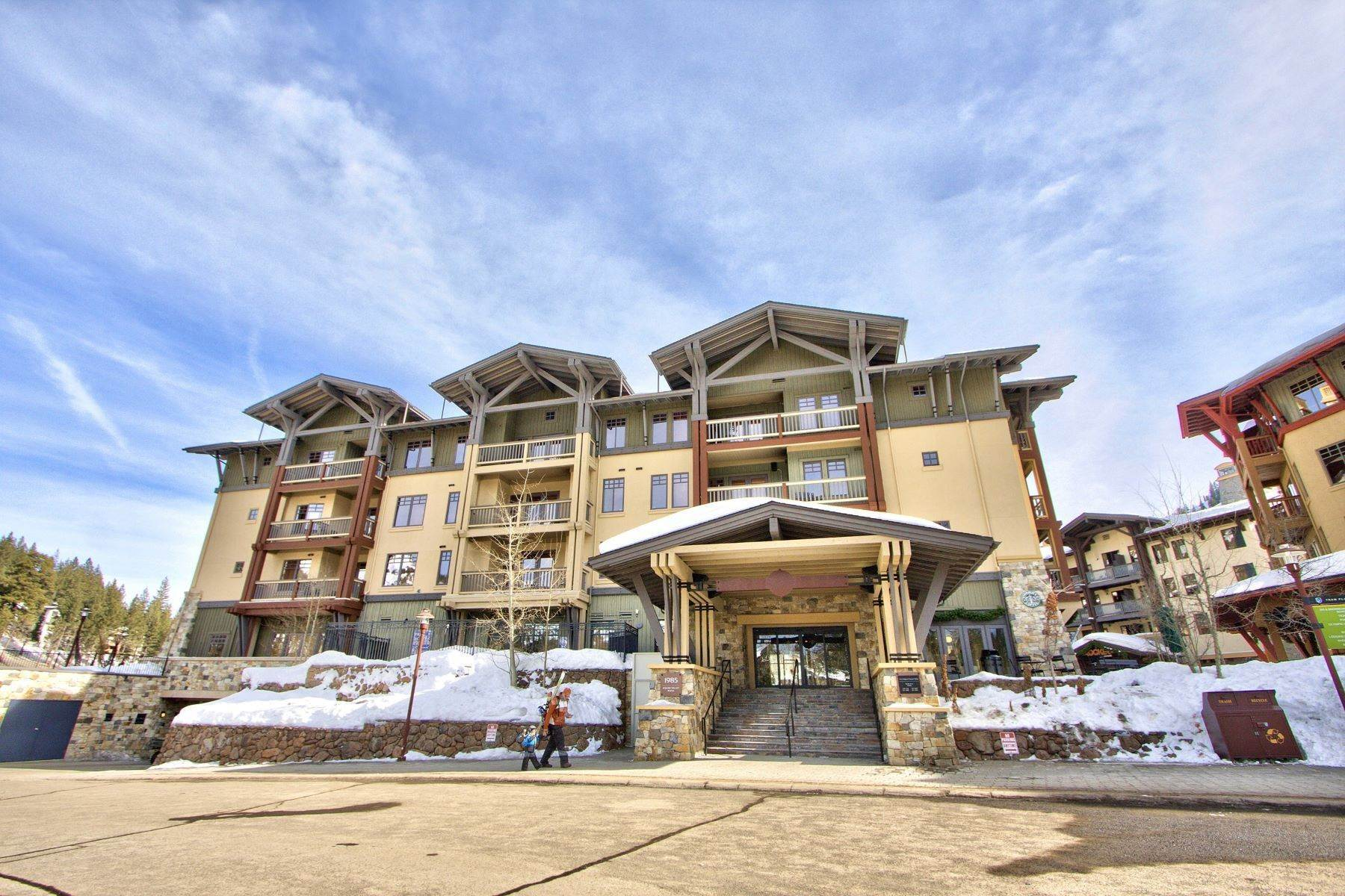 14. Condominiums for Active at Right next to Squaw Funitel lift 1880 Village South Road #3-233 Olympic Valley, California 96146 United States