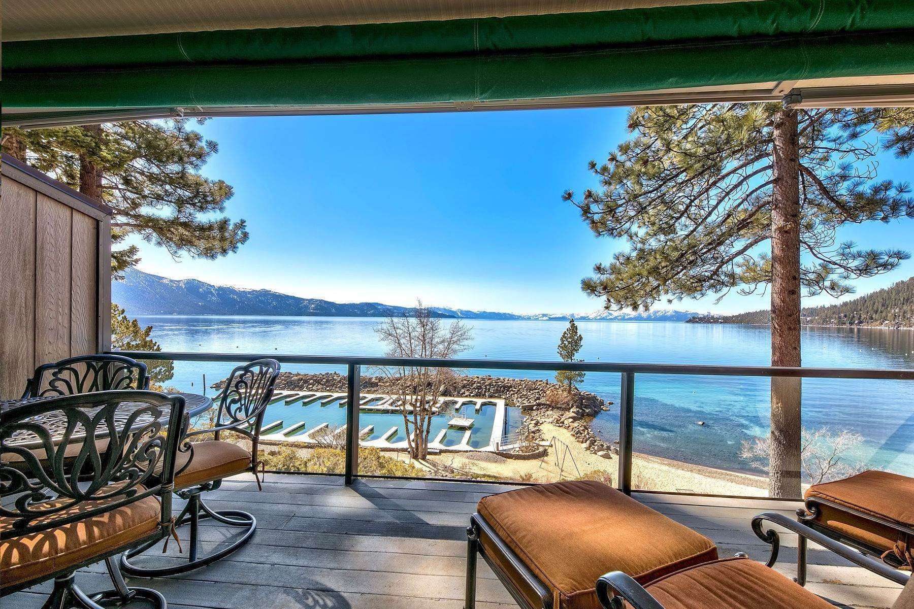 21. Condominiums for Active at Lakefront property with Boat Marina 525 Lakeshore Blvd #48 Incline Village, Nevada 89451 United States