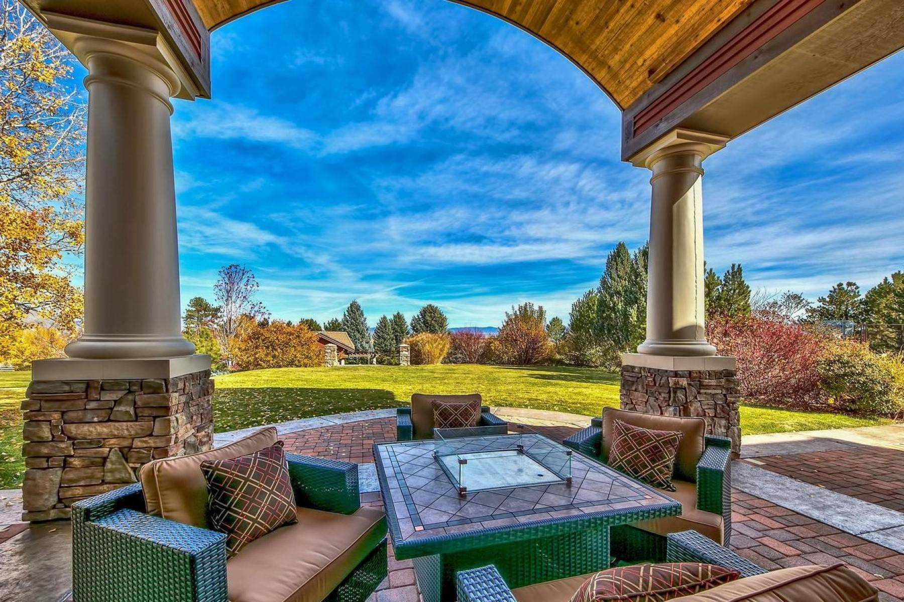 11. Single Family Homes for Active at Private Estate Near Lake Tahoe 263 Sierra Country Circle Gardnerville, Nevada 89460 United States