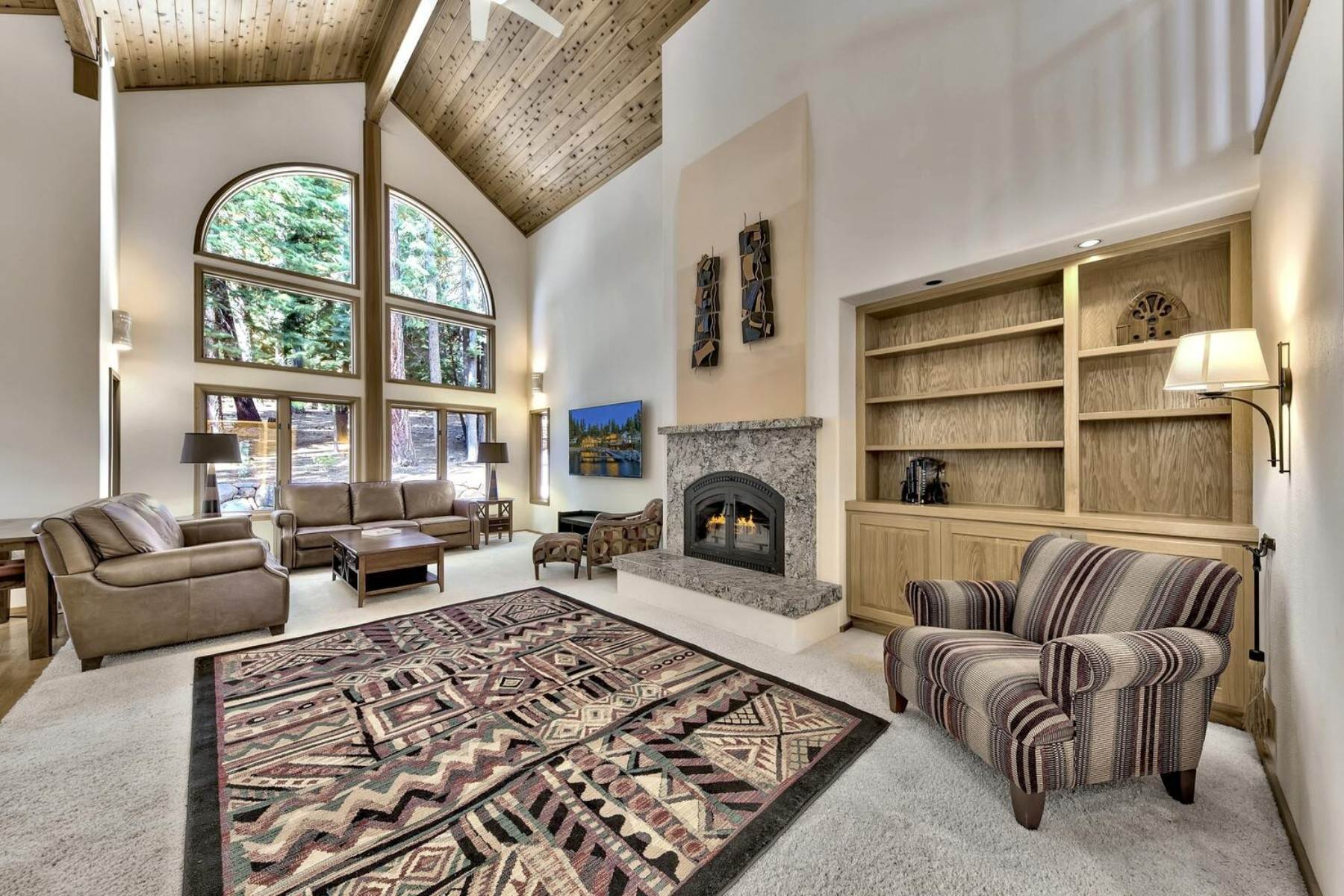7. Single Family Homes for Active at Private Setting In Tahoe Donner 12320 Telemark Place Truckee, California 96161 United States