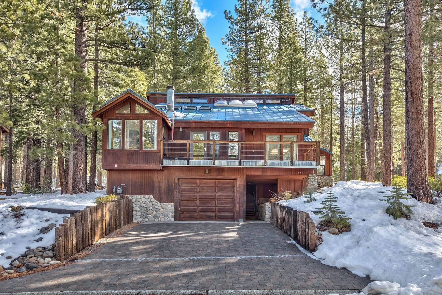 Property for Active at Unique Mountain Design in Montgomery Estate's 2362 Marshall Trail South Lake Tahoe, California 96150 United States