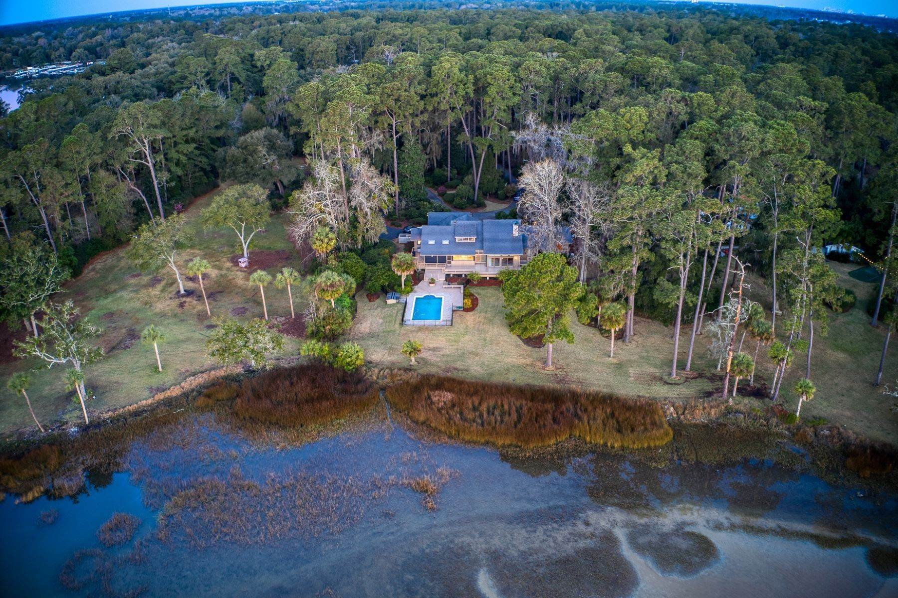 Single Family Homes for Active at Live On Over 2.5 Acres That Overlook The Skidaway River And Beyond 41 Island Drive Savannah, Georgia 31406 United States