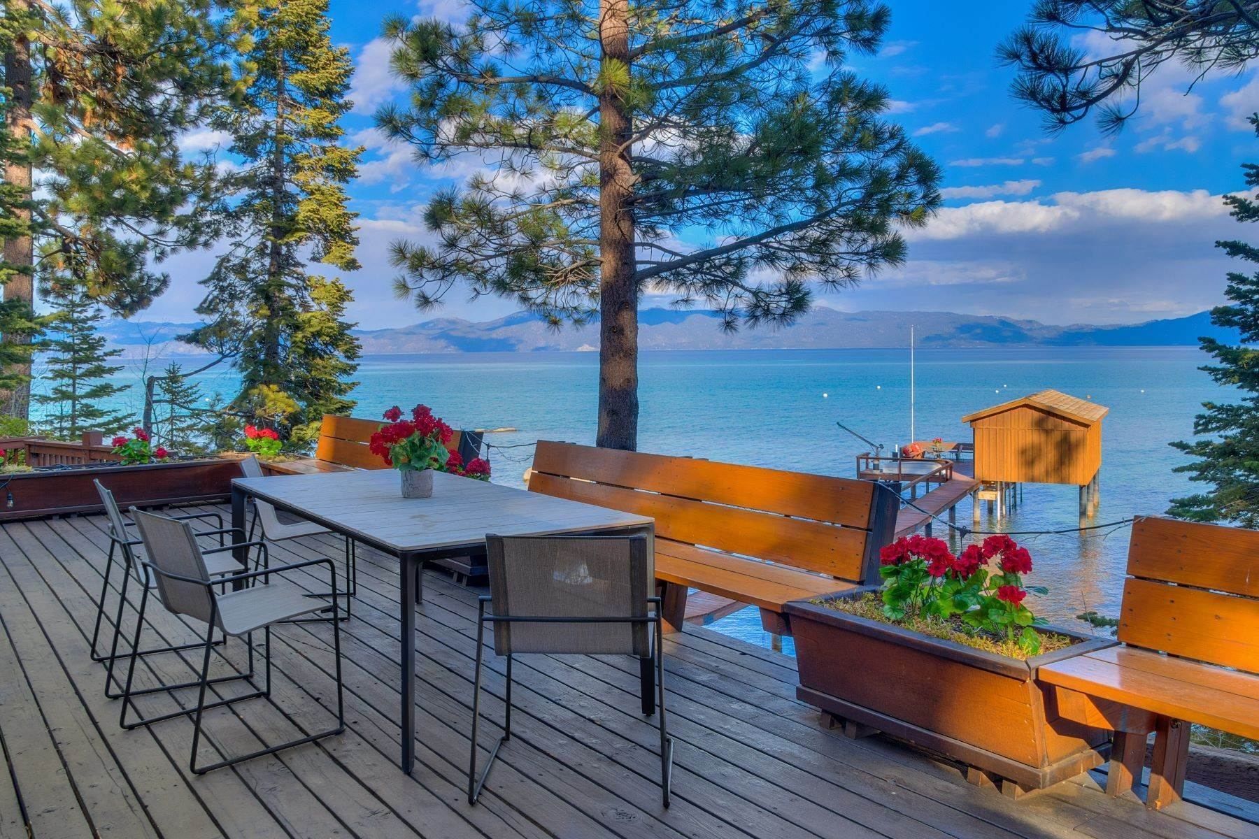Single Family Homes for Active at Boat House with Deck and Sunshine 8645 Beach Lane Tahoma, California 96142 United States