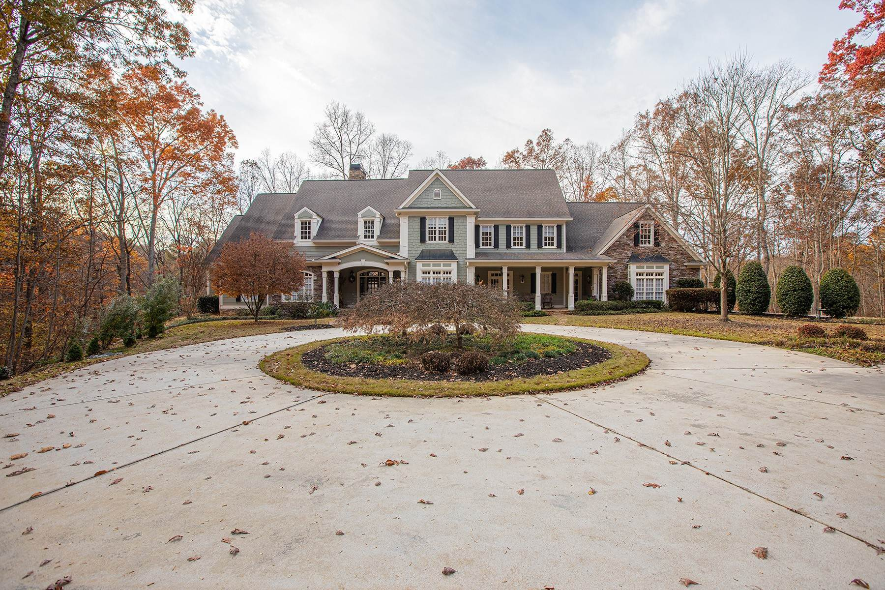 Single Family Homes for Active at Gated Estate On 6+ Acres 55 Summitrail Lane Dawsonville, Georgia 30534 United States
