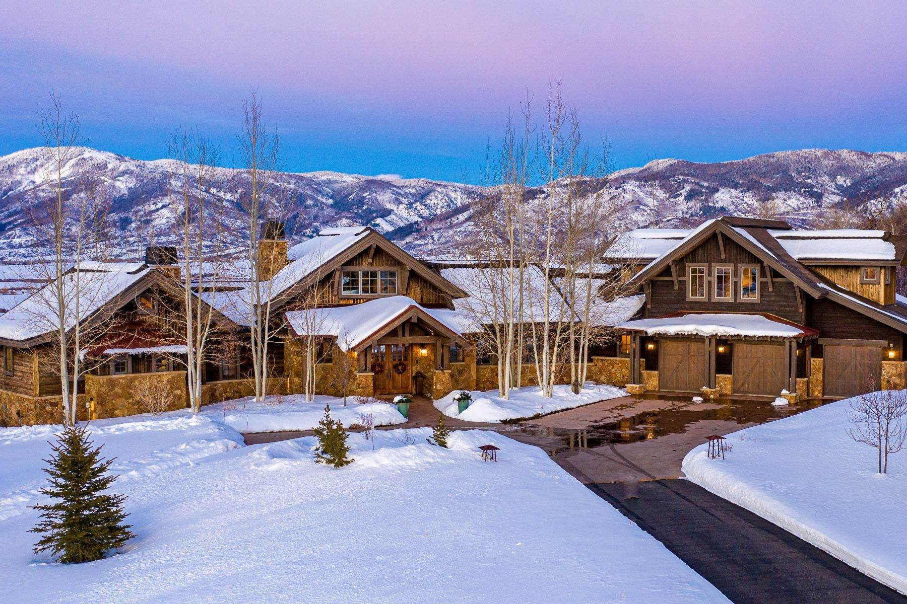Single Family Homes for Active at Sidney Peak View Home 30650 Marshall Ridge Steamboat Springs, Colorado 80487 United States