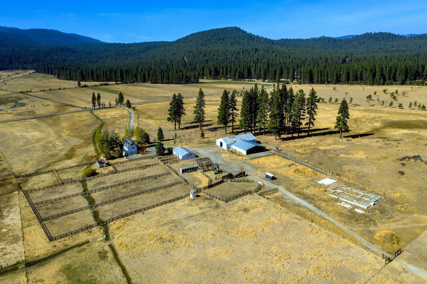 Single Family Homes 为 销售 在 Sierra Valley Splendor on 532 Acres 22440 Highway 89 Calpine, 加利福尼亚州 96126 美国