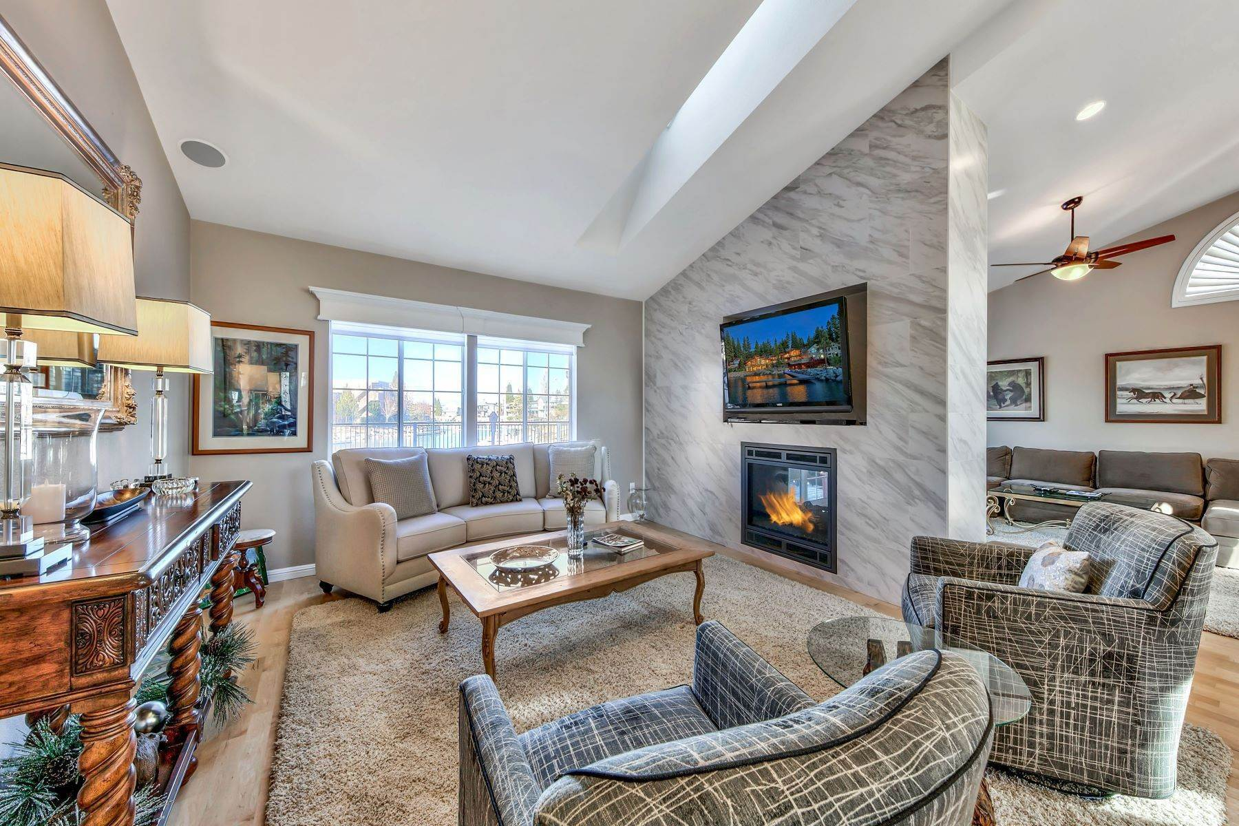 3. Single Family Homes for Active at 5 Bedroom Waterfront 1961 Kokanee Way South Lake Tahoe, California 96150 United States