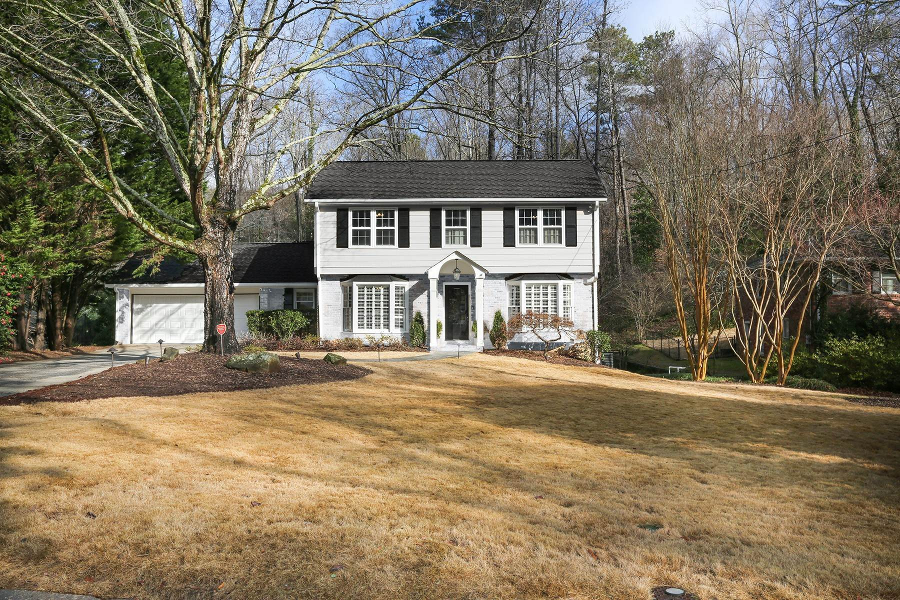 Single Family Homes for Active at A Fully Remodeled Five Bedroom Charmer in Chastain/Sandy Springs 410 Forest Hills Drive Sandy Springs, Georgia 30342 United States
