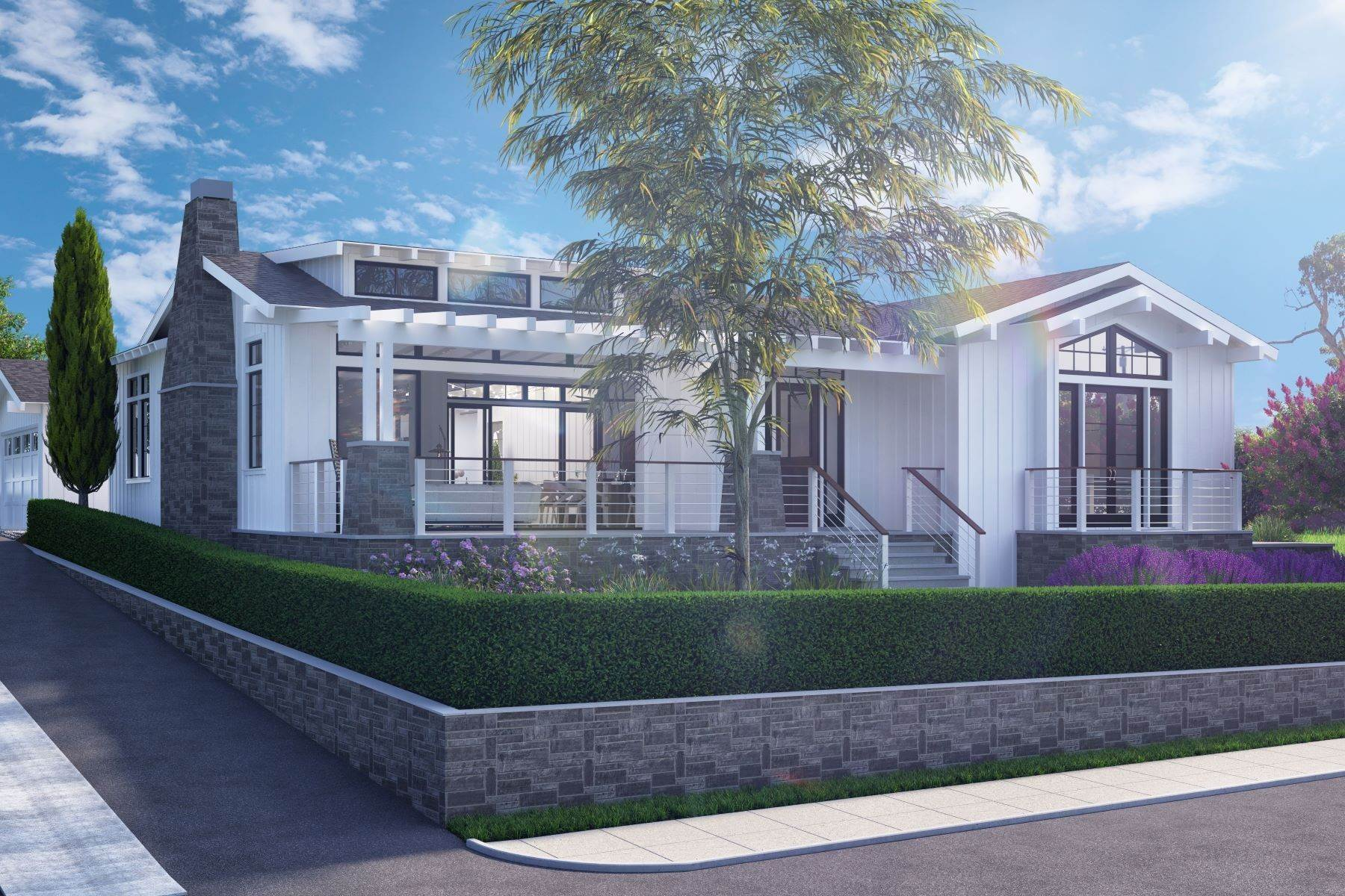 Single Family Homes for Active at Brand New Beach Estate 1023 Stratford Court Del Mar, California 92014 United States