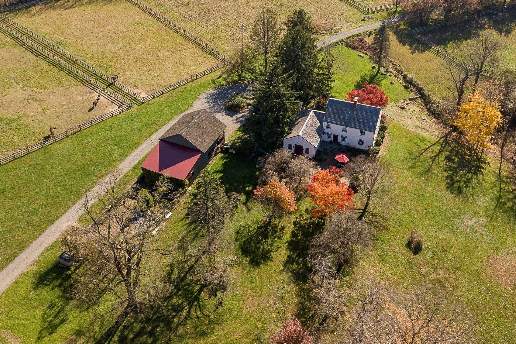 Farm and Ranch Properties for Active at Longspring Farm: A Country Home Where Dreams Come True 172 Pleasant Valley Road Titusville, New Jersey 08560 United States