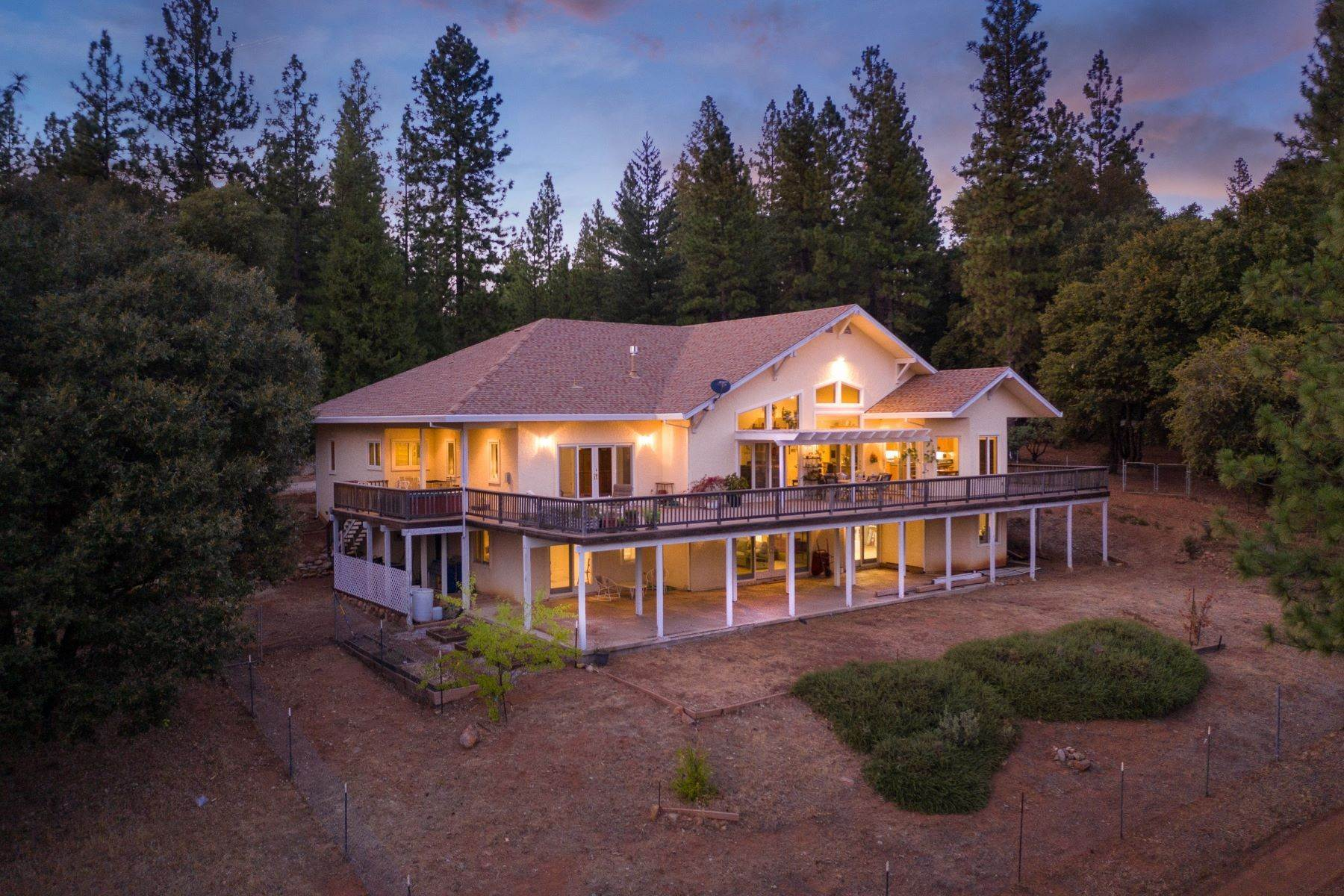 Single Family Homes for Active at Custom Built Home Boasting Over 5,000 sq ft and 30+ Acres 24200 Golden Ridge Drive Volcano, California 95689 United States