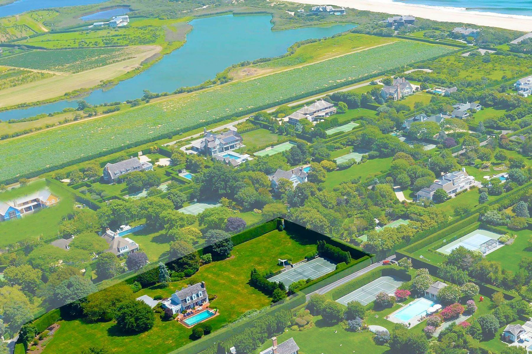 Single Family Homes for Active at Oceanside Compound Southampton Village 181 Murray Place Southampton, New York 11968 United States